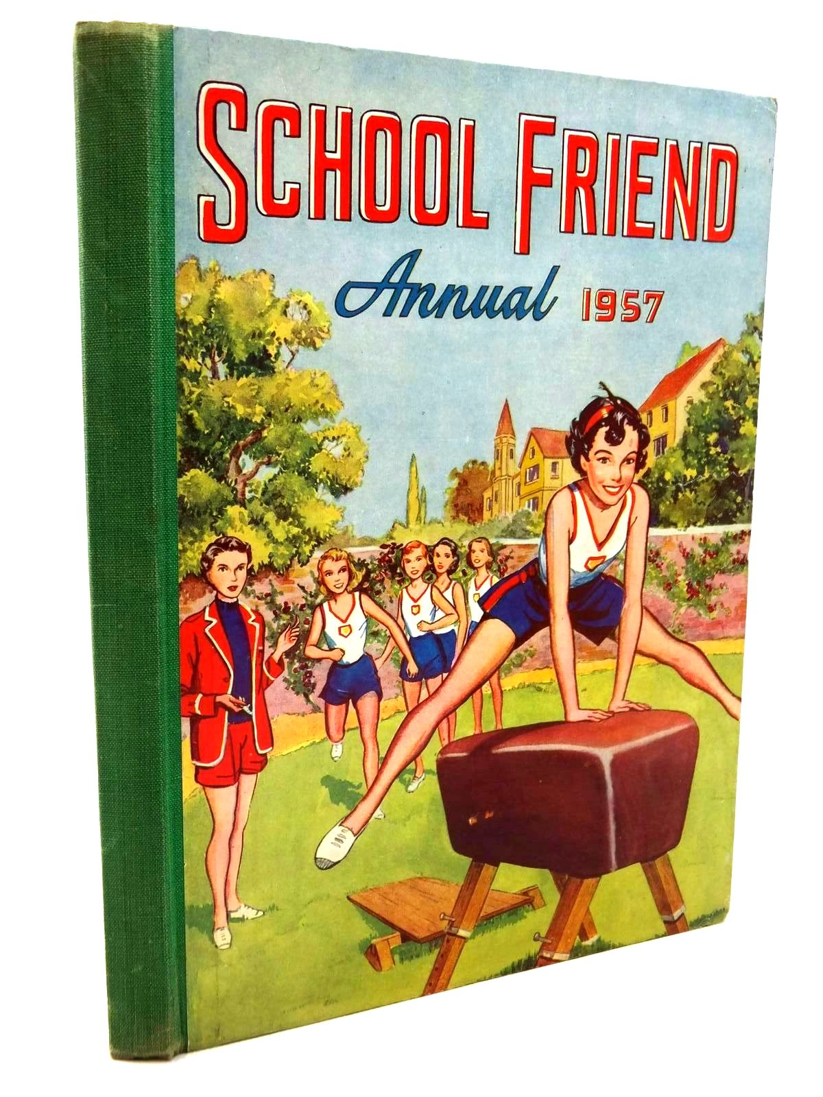 Photo of SCHOOL FRIEND ANNUAL 1957 published by The Amalgamated Press (STOCK CODE: 1316860)  for sale by Stella & Rose's Books