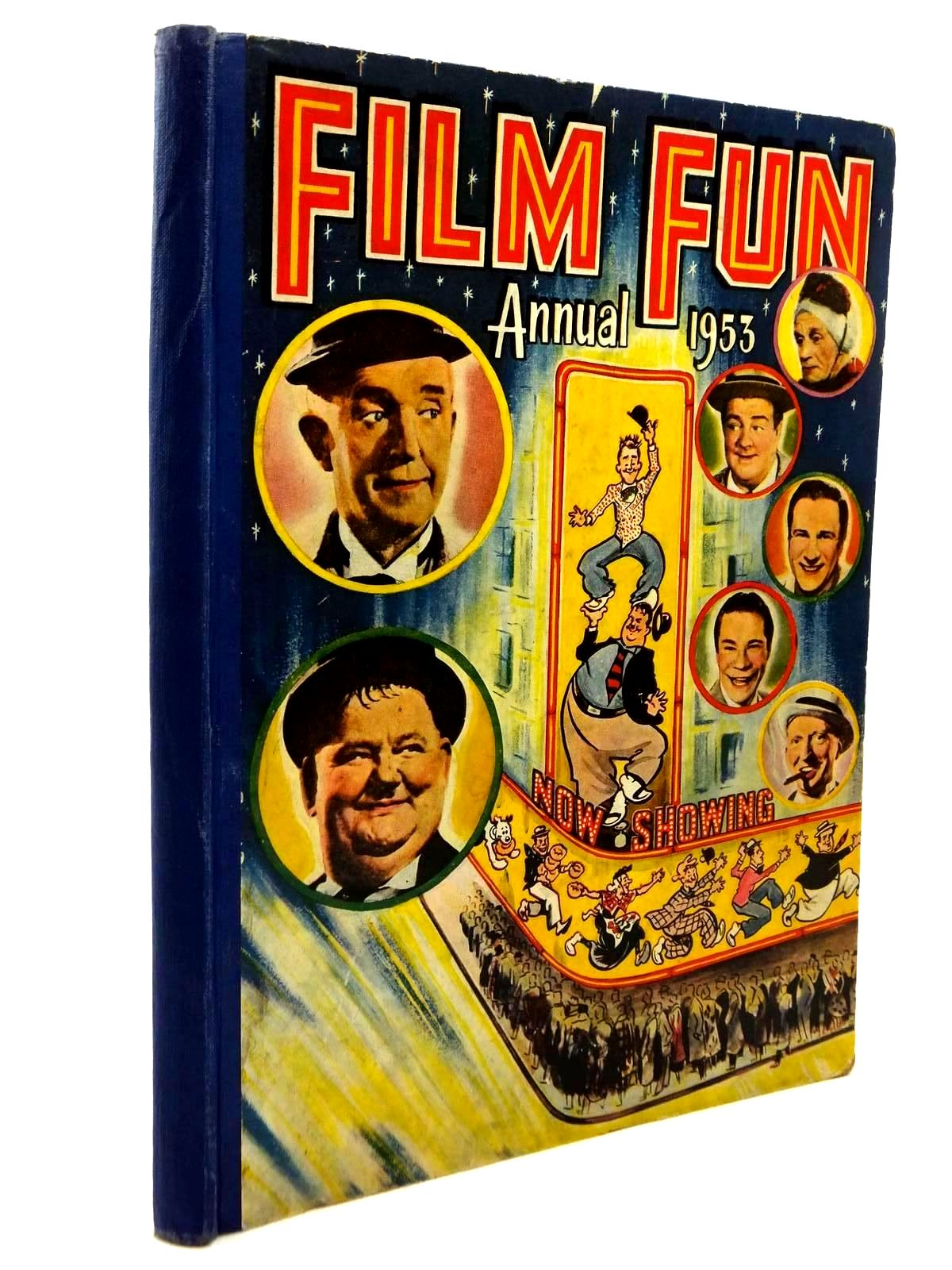 Photo of FILM FUN ANNUAL 1953 published by The Amalgamated Press (STOCK CODE: 1316861)  for sale by Stella & Rose's Books