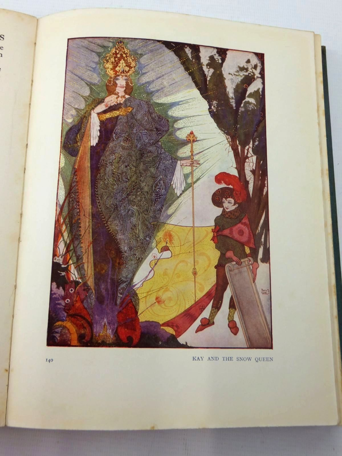Photo of FAIRY TALES BY HANS CHRISTIAN ANDERSEN written by Andersen, Hans Christian illustrated by Clarke, Harry published by Brentano's (STOCK CODE: 1316871)  for sale by Stella & Rose's Books