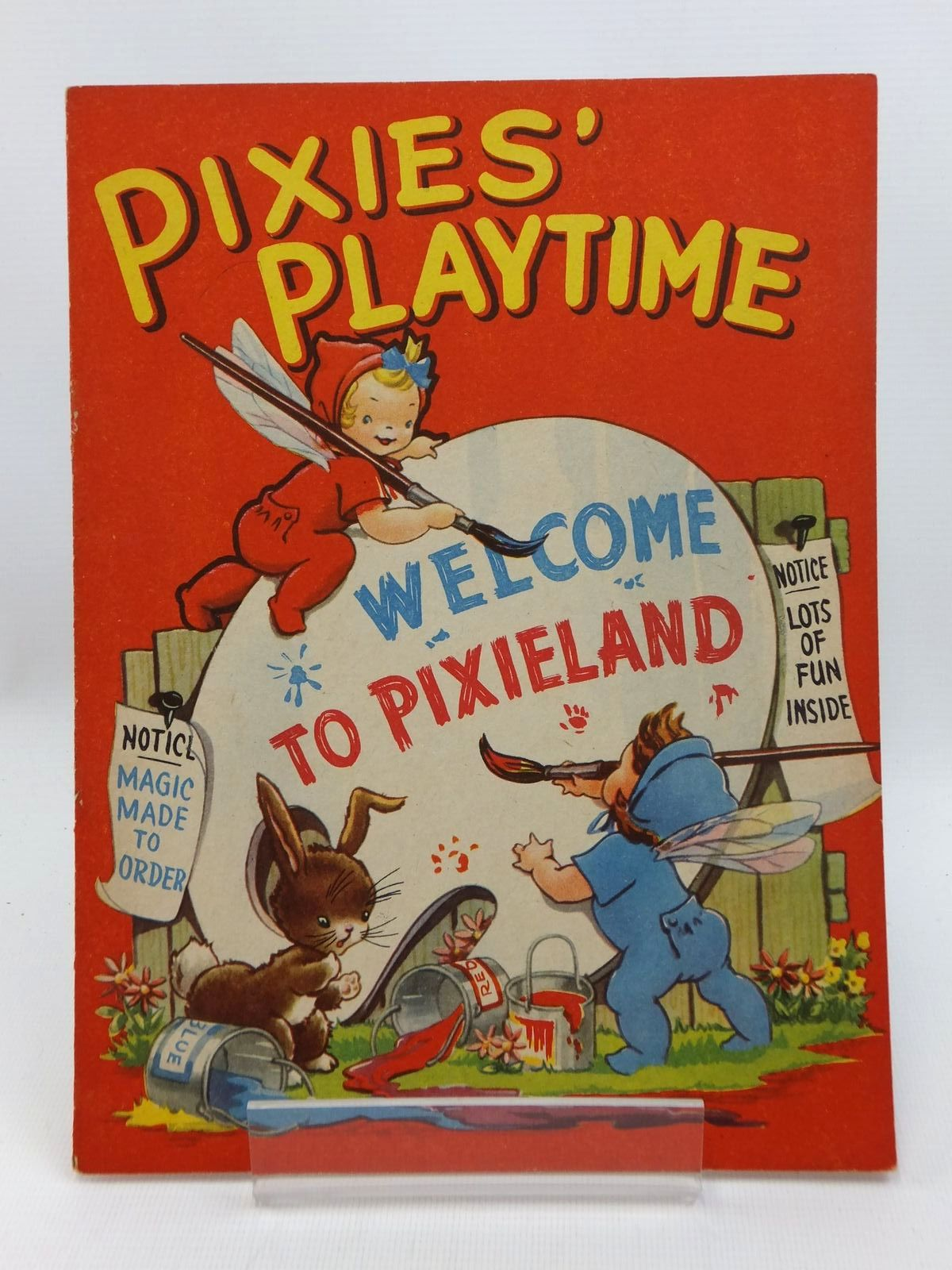 Photo of PIXIES' PLAYTIME published by The Children's Press (STOCK CODE: 1316873)  for sale by Stella & Rose's Books