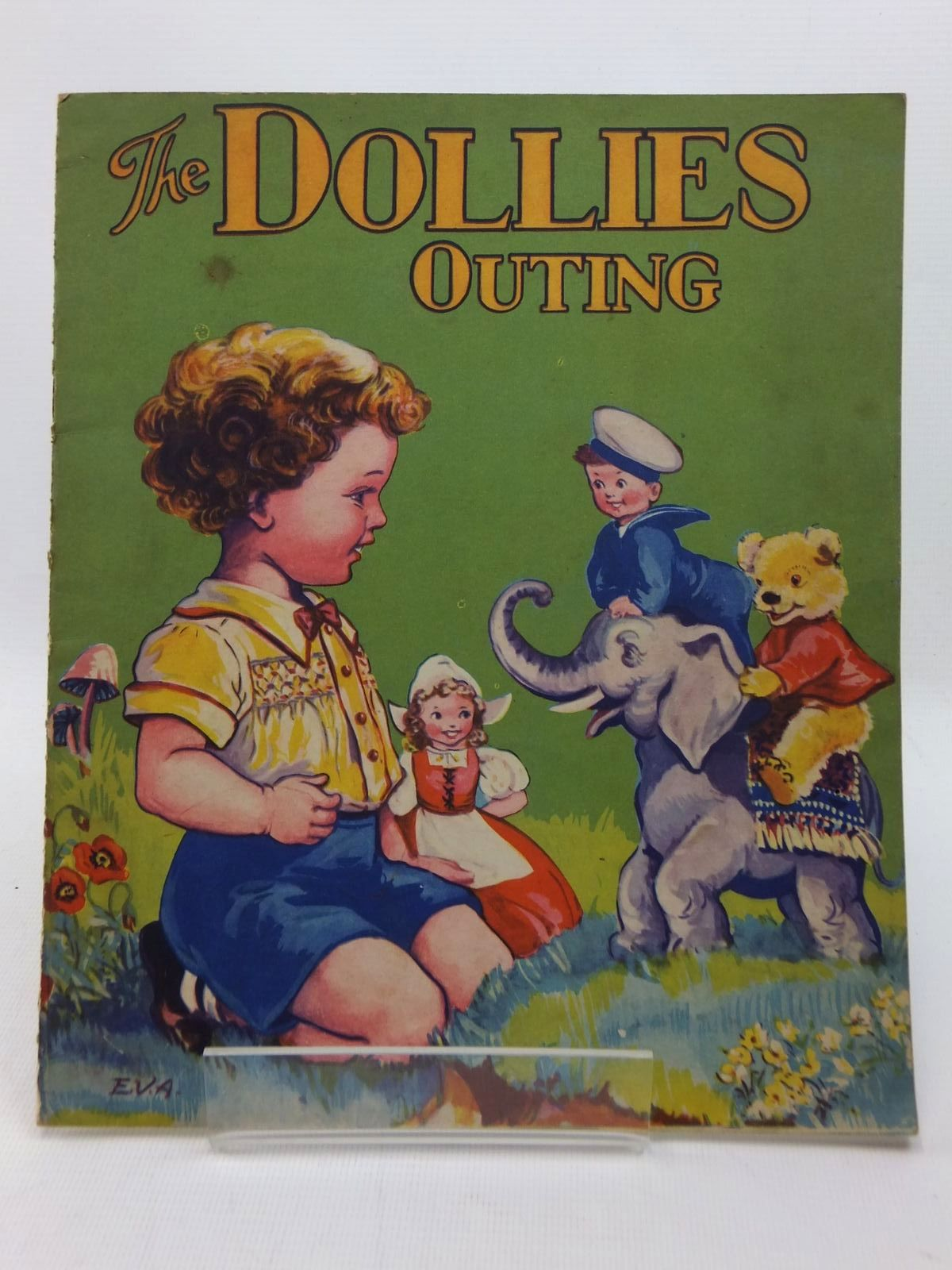 Photo of THE DOLLIES OUTING illustrated by E.V.A., published by B.B. Ltd. (STOCK CODE: 1316882)  for sale by Stella & Rose's Books