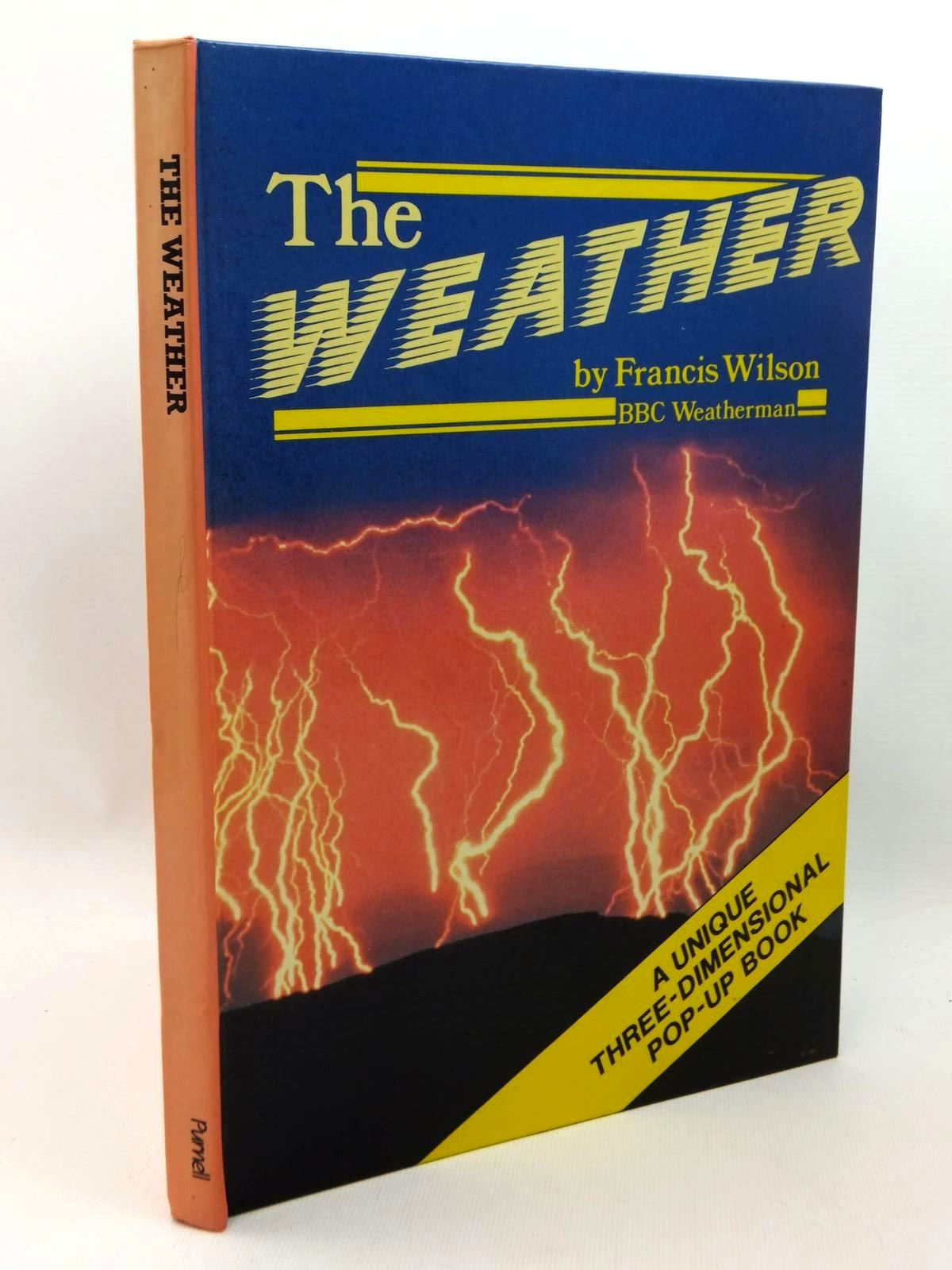 Photo of THE WEATHER written by Wilson, Francis illustrated by Jacobs, Philip published by Macdonald & Co. (Publishers) Ltd., Purnell (STOCK CODE: 1316914)  for sale by Stella & Rose's Books