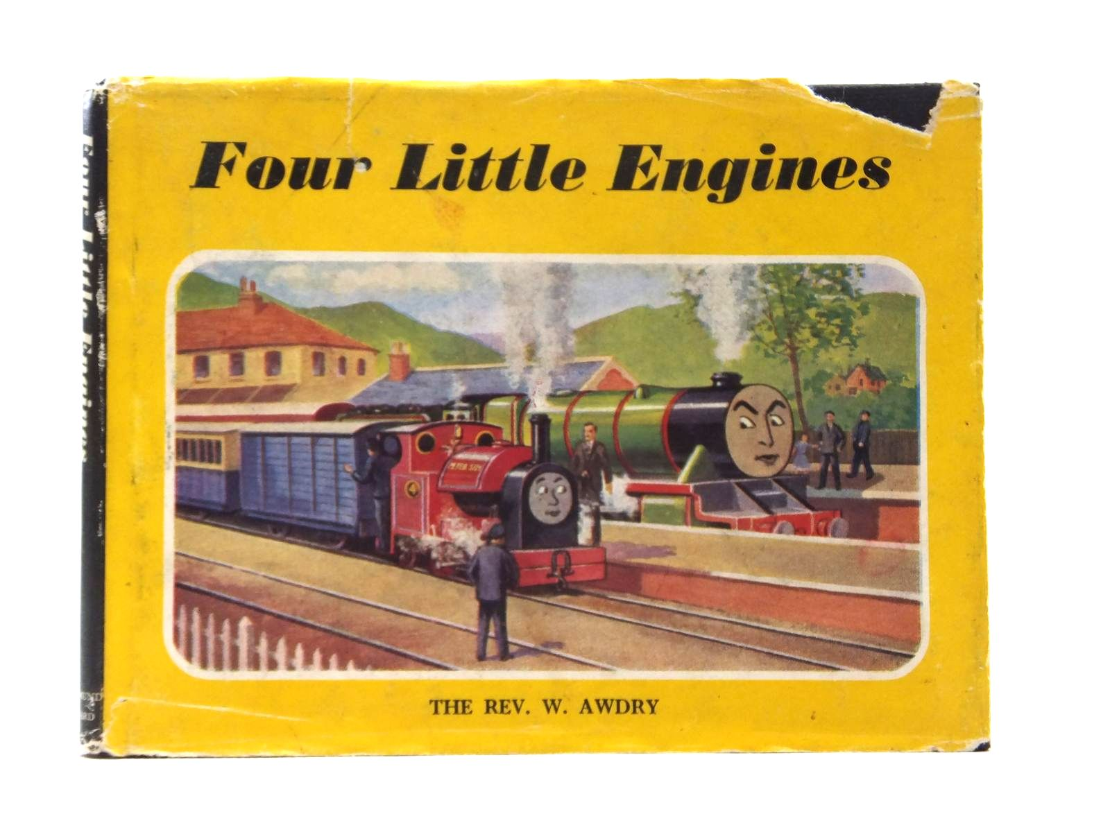 Photo of FOUR LITTLE ENGINES written by Awdry, Rev. W. illustrated by Dalby, C. Reginald published by Edmund Ward (STOCK CODE: 1316920)  for sale by Stella & Rose's Books