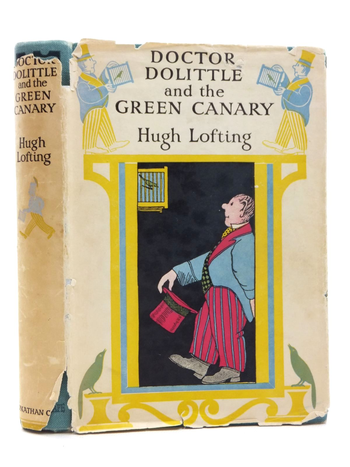 Photo of DOCTOR DOLITTLE AND THE GREEN CANARY written by Lofting, Hugh illustrated by Lofting, Hugh published by Jonathan Cape (STOCK CODE: 1316940)  for sale by Stella & Rose's Books