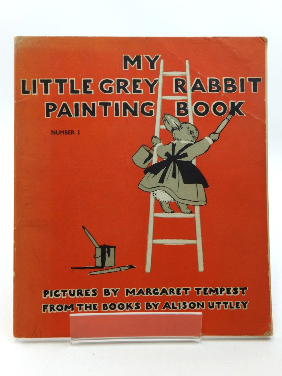Photo of MY LITTLE GREY RABBIT PAINTING BOOK NUMBER 1- Stock Number: 1316947