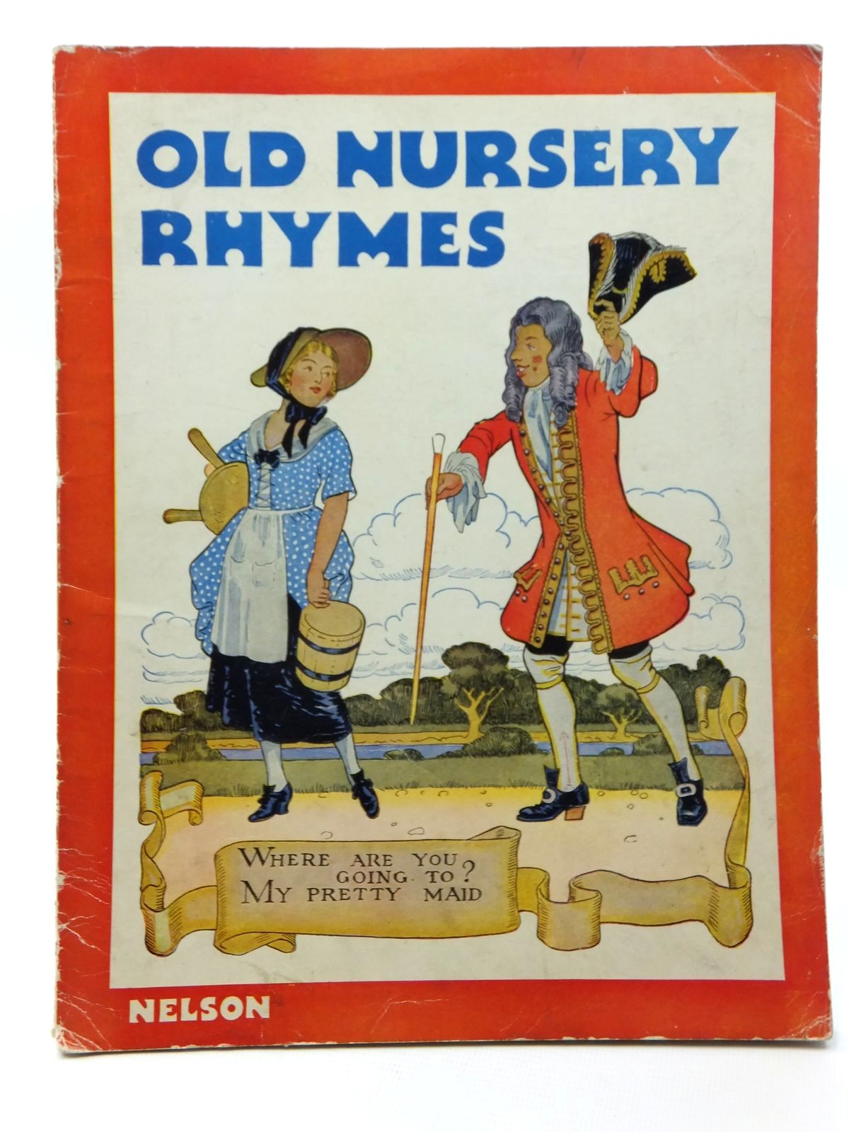 Photo of OLD NURSERY RHYMES illustrated by Orr, Jack Sims, Mabel et al., published by Thomas Nelson and Sons Ltd. (STOCK CODE: 1316970)  for sale by Stella & Rose's Books