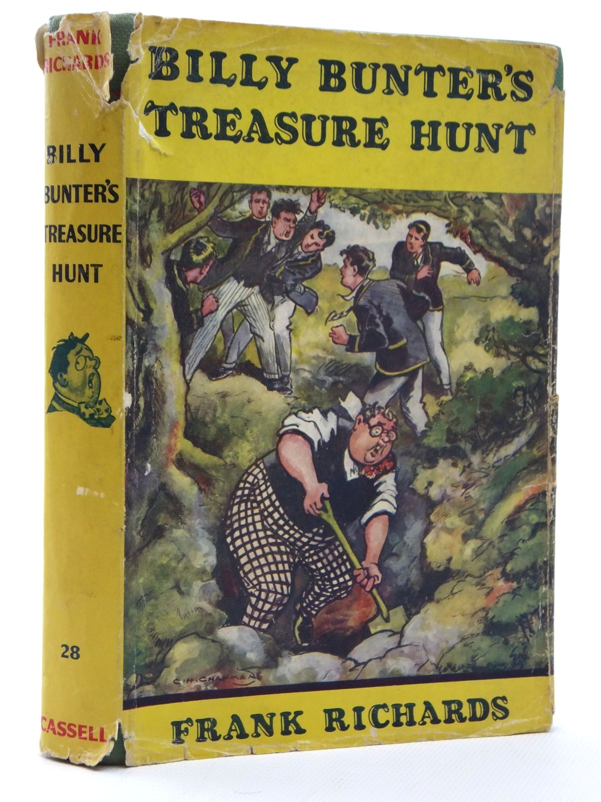 Photo of BILLY BUNTER'S TREASURE HUNT- Stock Number: 1316976
