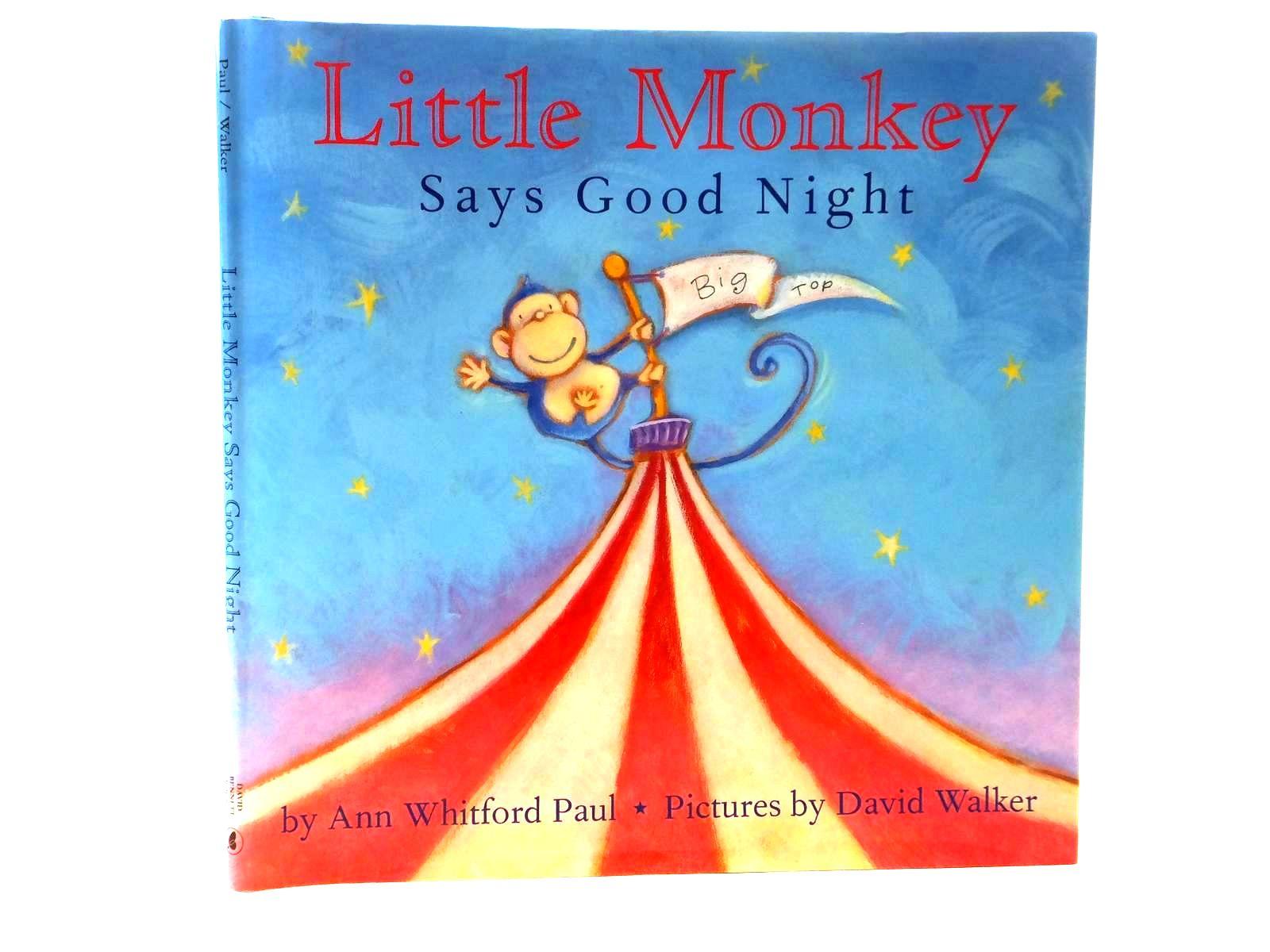 Photo of LITTLE MONKEY SAYS GOOD NIGHT- Stock Number: 1316987