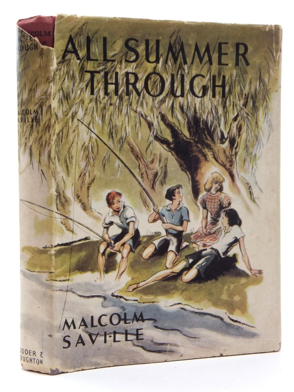 Photo of ALL SUMMER THROUGH written by Saville, Malcolm illustrated by Kiddell-Monroe, Joan published by Hodder & Stoughton (STOCK CODE: 1317018)  for sale by Stella & Rose's Books