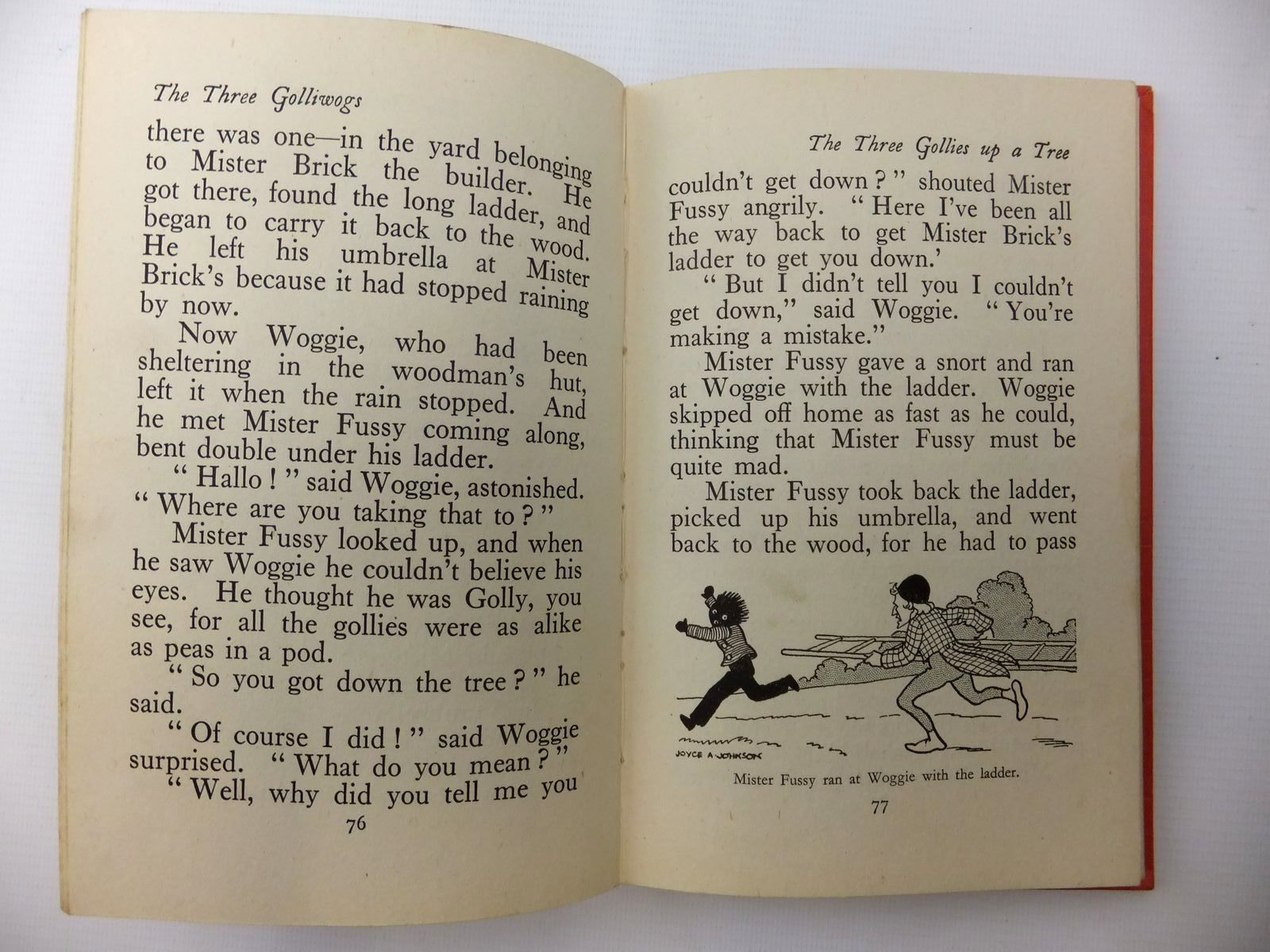Photo of THE THREE GOLLIWOGS written by Blyton, Enid illustrated by Johnson, Joyce published by George Newnes Limited (STOCK CODE: 1317049)  for sale by Stella & Rose's Books