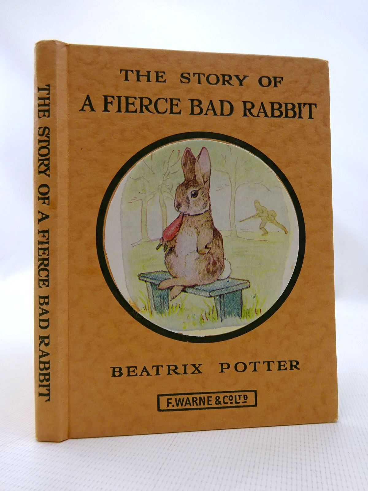 Photo of THE STORY OF A FIERCE BAD RABBIT written by Potter, Beatrix illustrated by Potter, Beatrix published by Frederick Warne & Co Ltd. (STOCK CODE: 1317163)  for sale by Stella & Rose's Books
