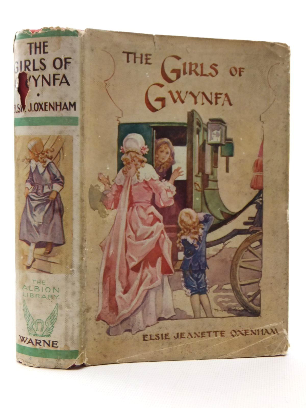 Photo of THE GIRLS OF GWYNFA written by Oxenham, Elsie J. illustrated by Brisley, Nina K. published by Frederick Warne & Co Ltd. (STOCK CODE: 1317186)  for sale by Stella & Rose's Books
