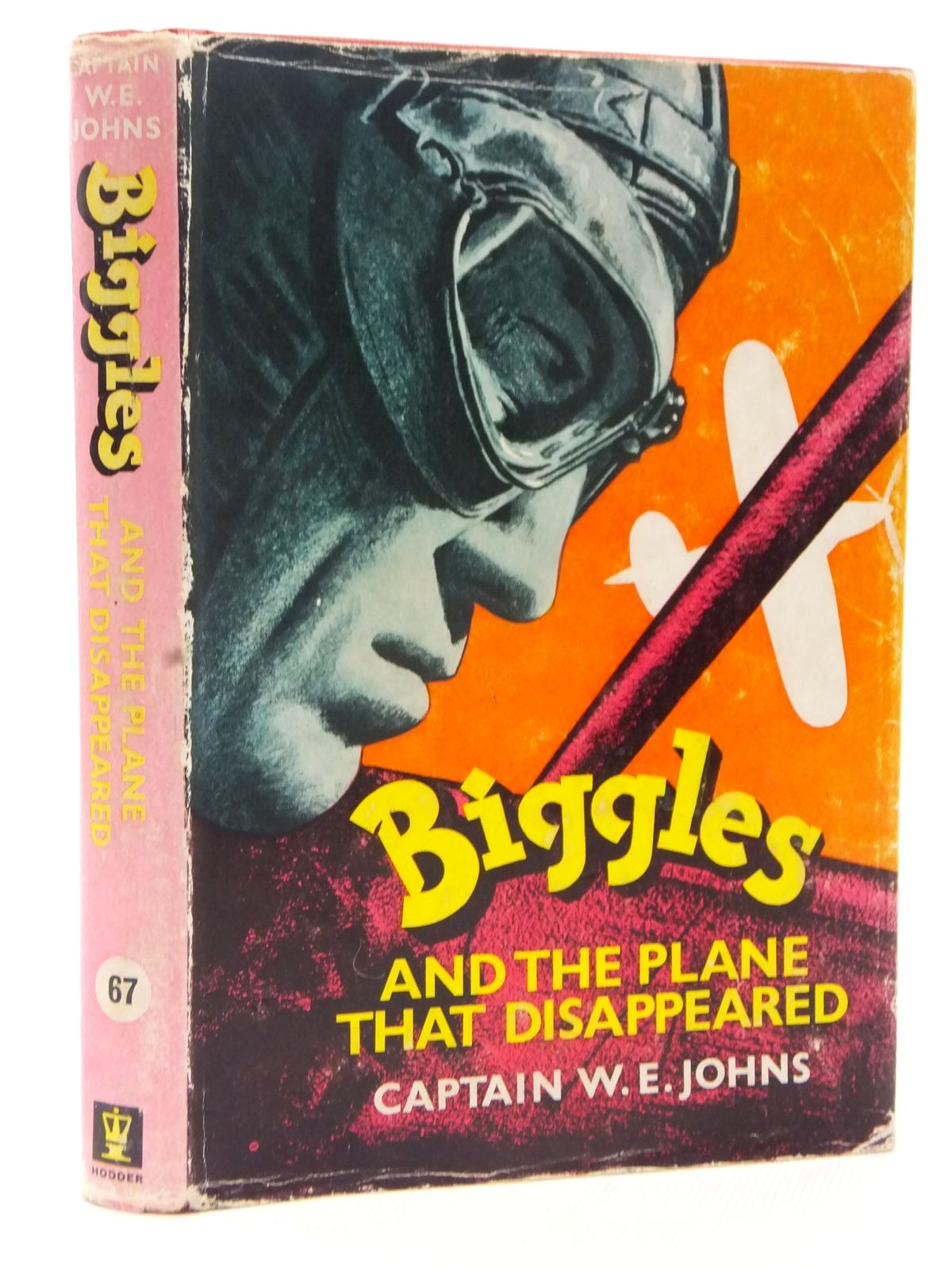 Photo of BIGGLES AND THE PLANE THAT DISAPPEARED written by Johns, W.E. illustrated by Stead,  published by Hodder & Stoughton (STOCK CODE: 1317194)  for sale by Stella & Rose's Books