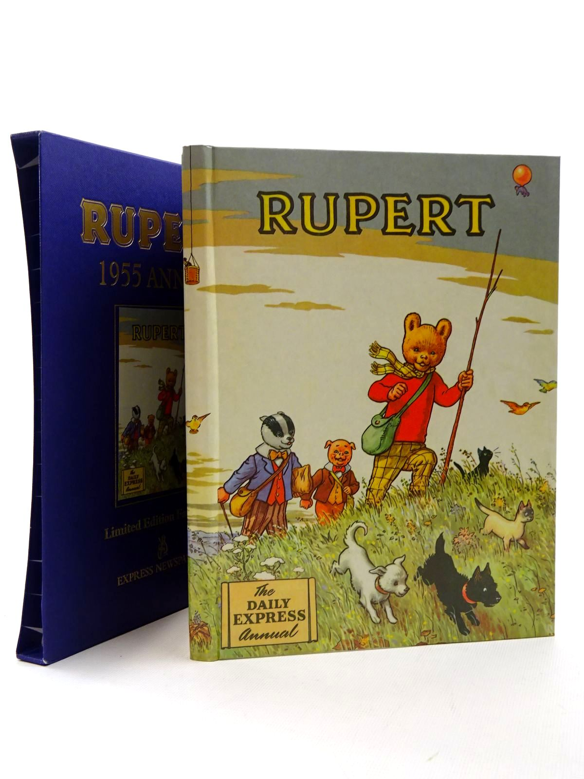 Photo of RUPERT ANNUAL 1955 (FACSIMILE) written by Bestall, Alfred illustrated by Bestall, Alfred published by Express Newspapers Ltd. (STOCK CODE: 1317210)  for sale by Stella & Rose's Books