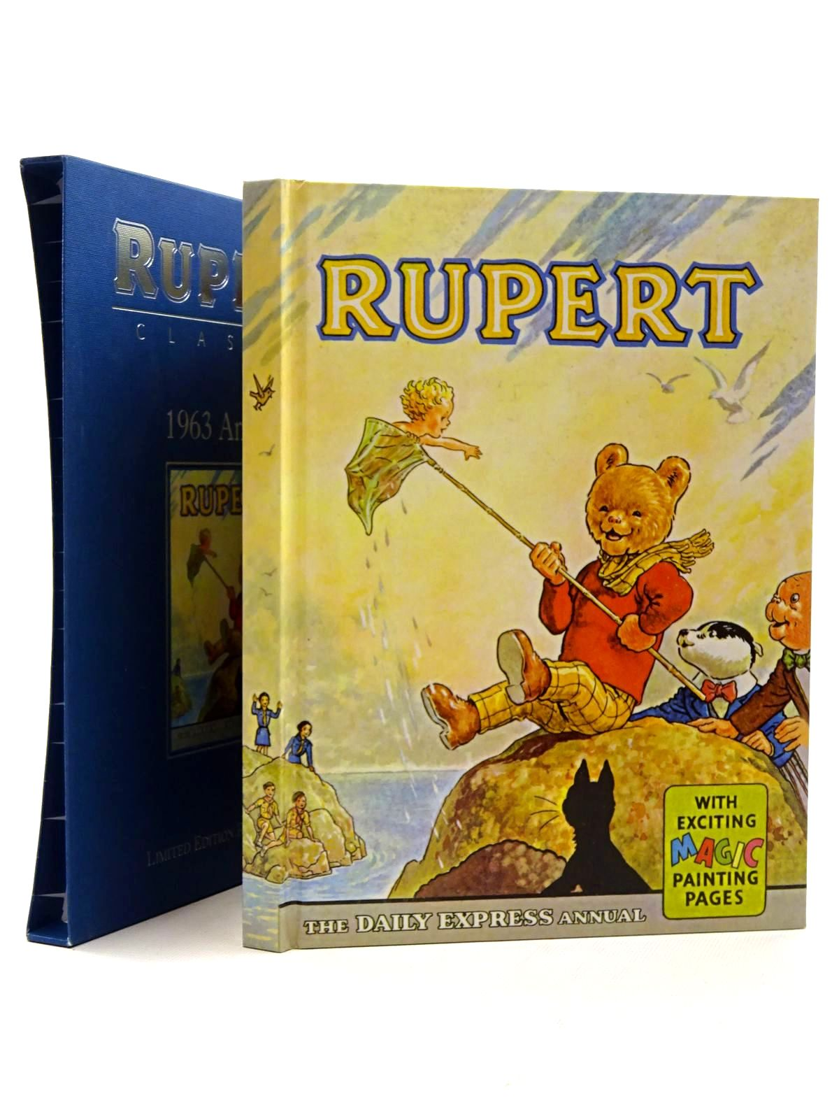 Photo of RUPERT ANNUAL 1963 (FACSIMILE) written by Bestall, Alfred illustrated by Bestall, Alfred published by Egmont Children's Books Ltd. (STOCK CODE: 1317212)  for sale by Stella & Rose's Books