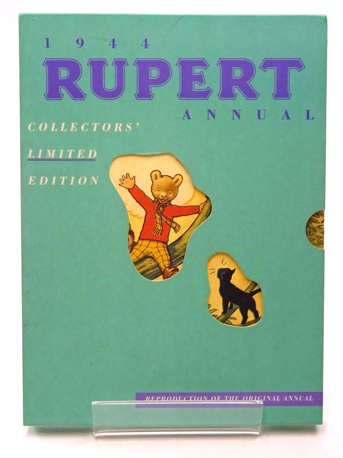 Photo of RUPERT ANNUAL 1944 (FACSIMILE) - RUPERT IN MORE ADVENTURES written by Bestall, Alfred illustrated by Bestall, Alfred published by Pedigree Books Limited (STOCK CODE: 1317214)  for sale by Stella & Rose's Books