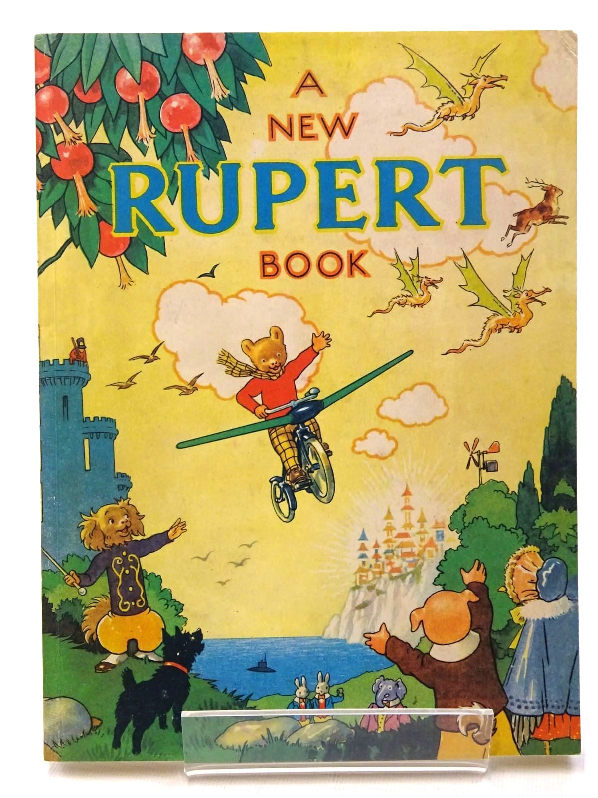 Photo of RUPERT ANNUAL 1945 (FACSIMILE) - A NEW RUPERT BOOK written by Bestall, Alfred illustrated by Bestall, Alfred published by Pedigree Books Limited (STOCK CODE: 1317215)  for sale by Stella & Rose's Books