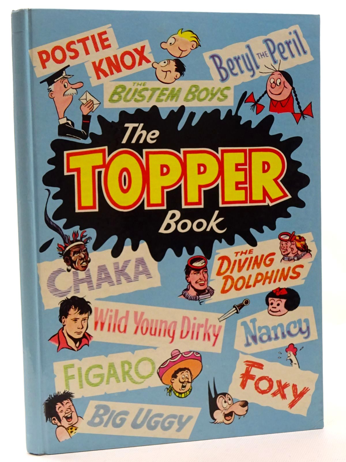 Photo of THE TOPPER BOOK 1962 published by D.C. Thomson & Co Ltd. (STOCK CODE: 1317229)  for sale by Stella & Rose's Books