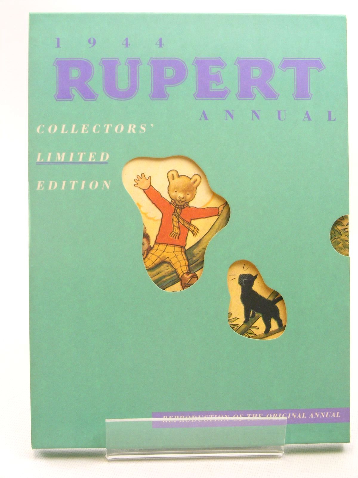 Photo of RUPERT ANNUAL 1944 (FACSIMILE) - RUPERT IN MORE ADVENTURES written by Bestall, Alfred illustrated by Bestall, Alfred published by Pedigree Books Limited (STOCK CODE: 1317283)  for sale by Stella & Rose's Books
