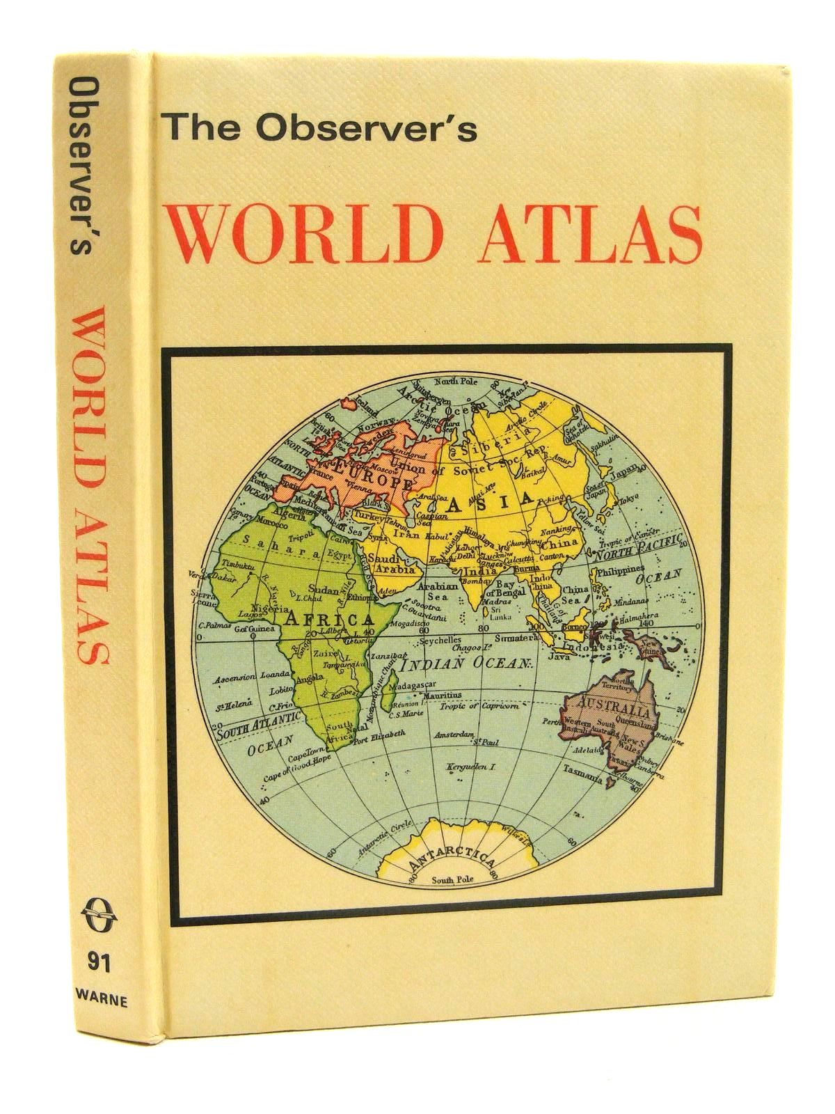 Photo of THE OBSERVER'S WORLD ATLAS- Stock Number: 1317298