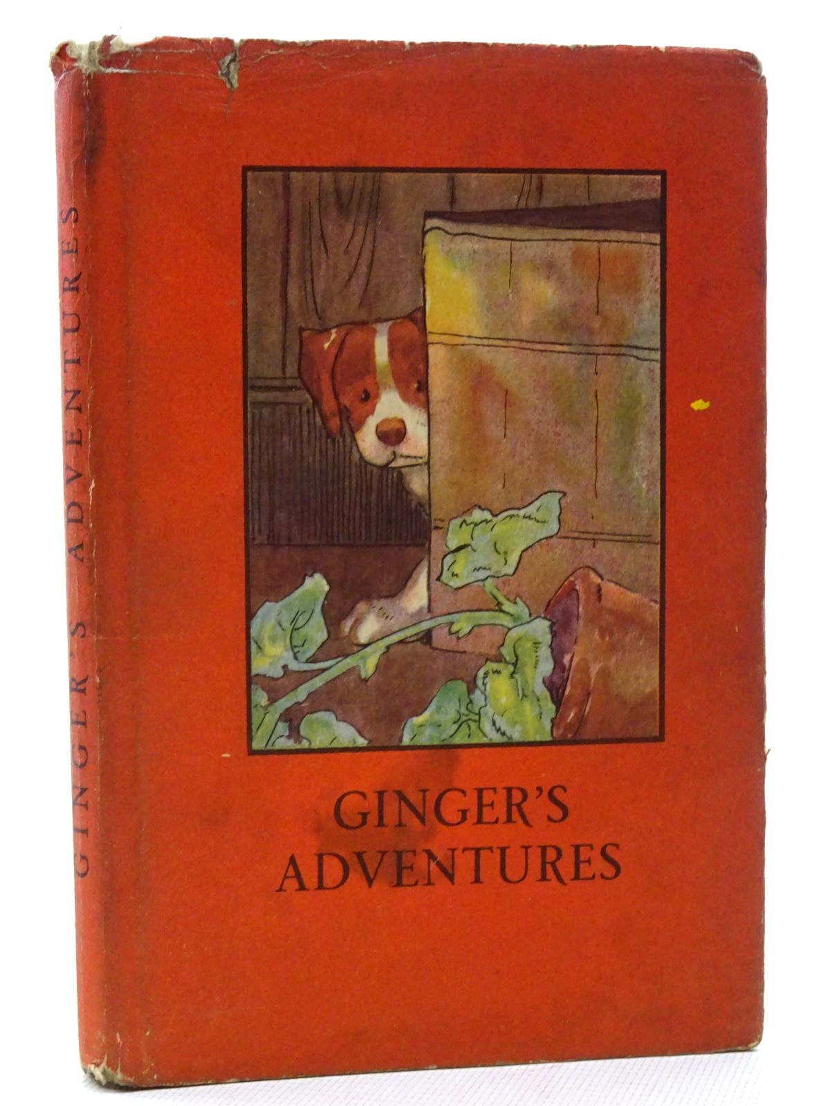 Photo of GINGER'S ADVENTURES written by Macgregor, A.J.