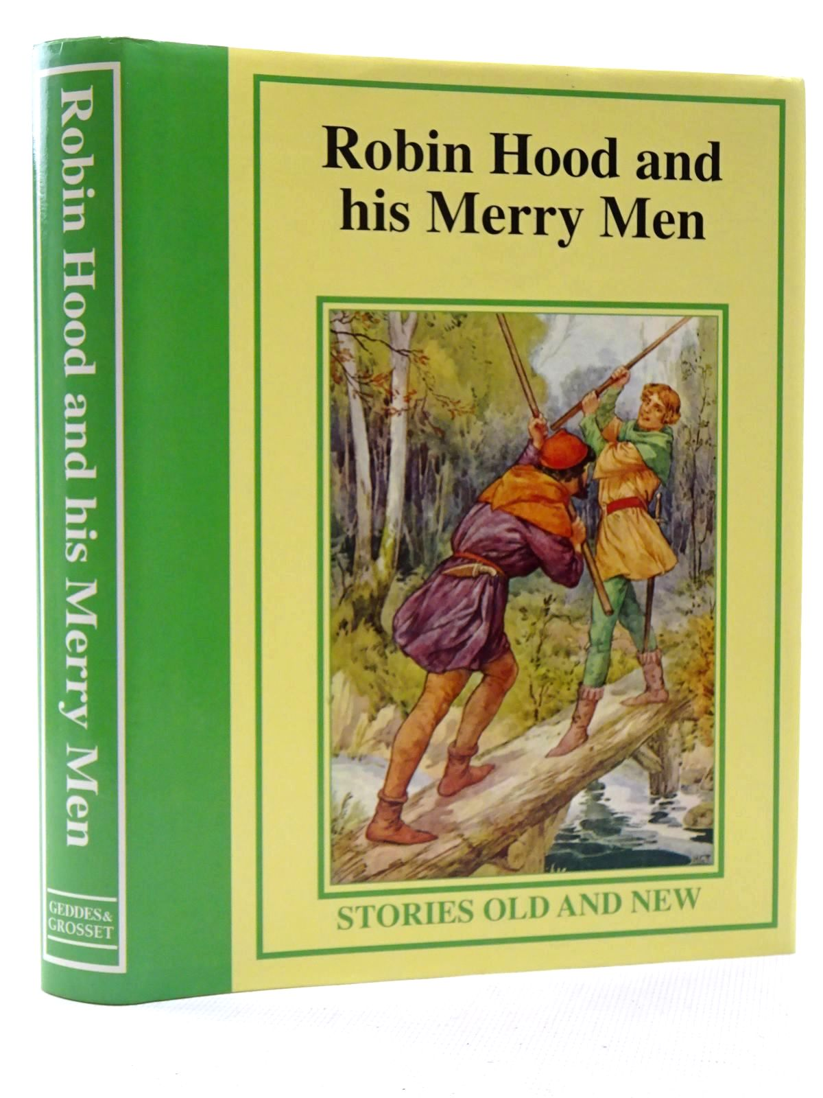 Photo of ROBIN HOOD AND HIS MERRY MEN published by Geddes & Grosset (STOCK CODE: 1317333)  for sale by Stella & Rose's Books