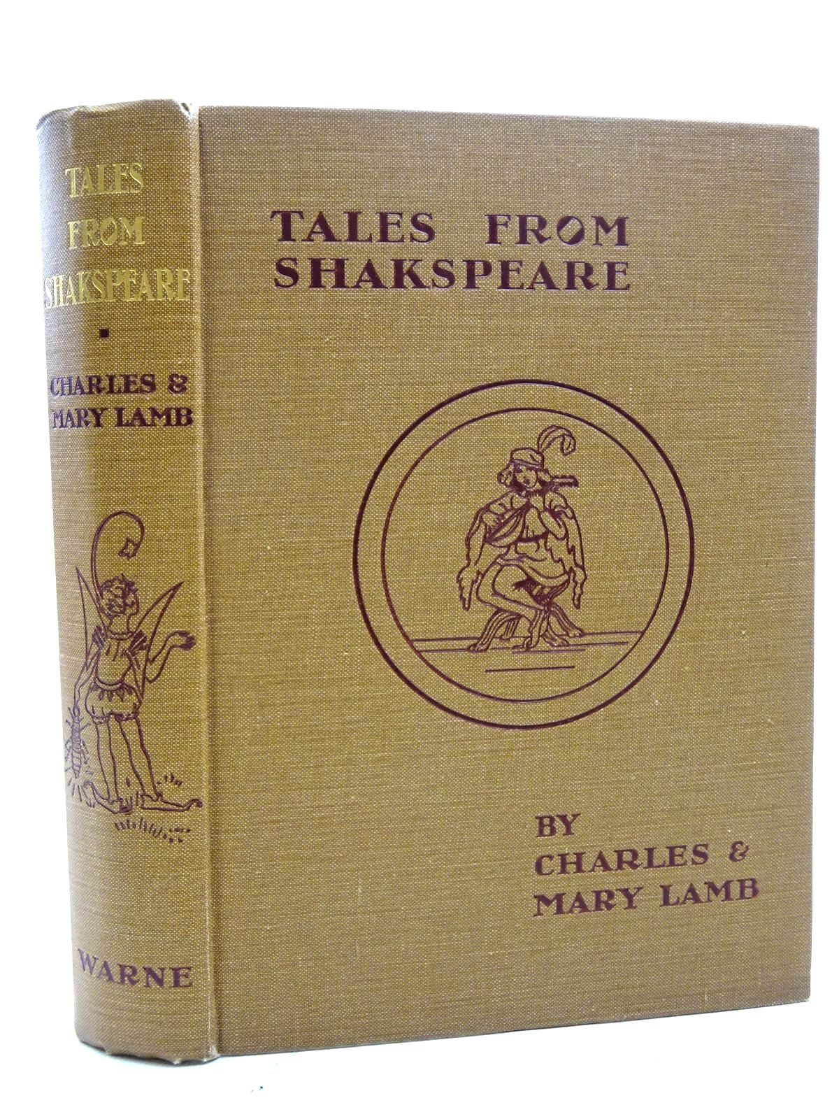 Photo of TALES FROM SHAKESPEARE written by Lamb, Charles<br />Lamb, Mary<br />Shakespeare, William illustrated by Pape, Frank C. published by Frederick Warne &amp; Co Ltd. (STOCK CODE: 1317373)  for sale by Stella & Rose's Books