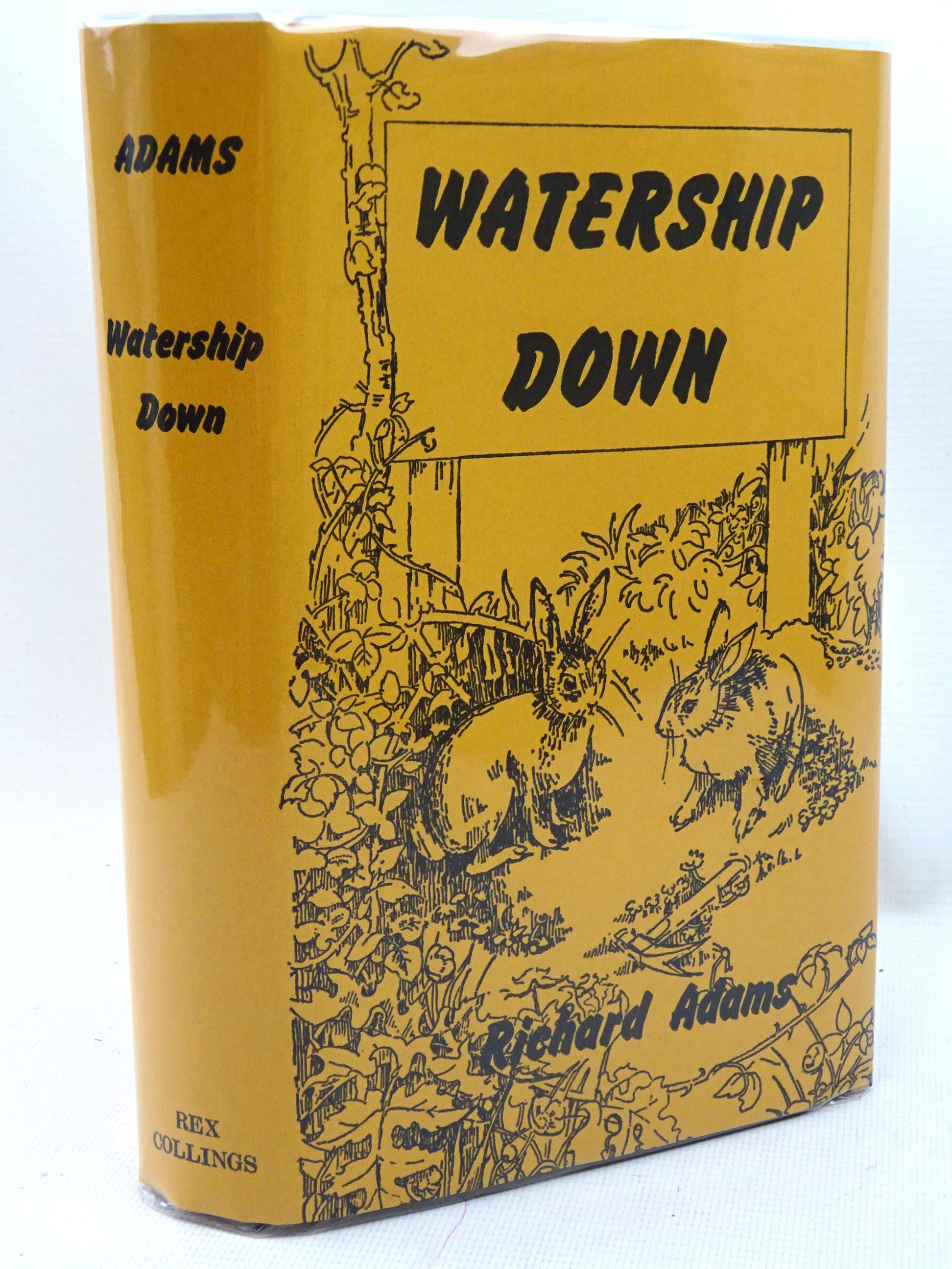 Photo of WATERSHIP DOWN written by Adams, Richard published by Rex Collings (STOCK CODE: 1317396)  for sale by Stella & Rose's Books
