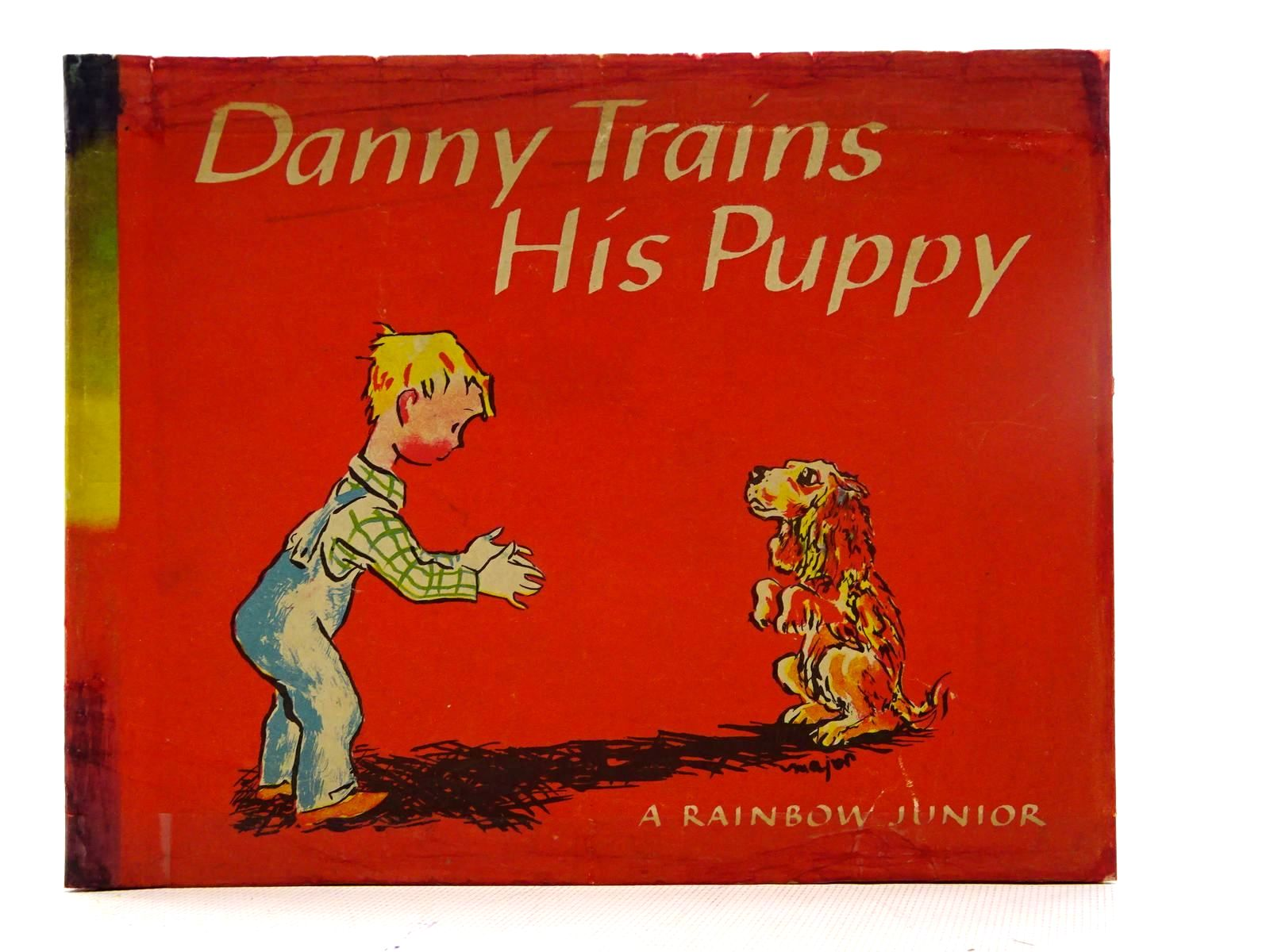 Photo of DANNY TRAINS HIS PUPPY written by Soresby, Lenore illustrated by Major, Henry published by The World Publishing Company (STOCK CODE: 1317400)  for sale by Stella & Rose's Books