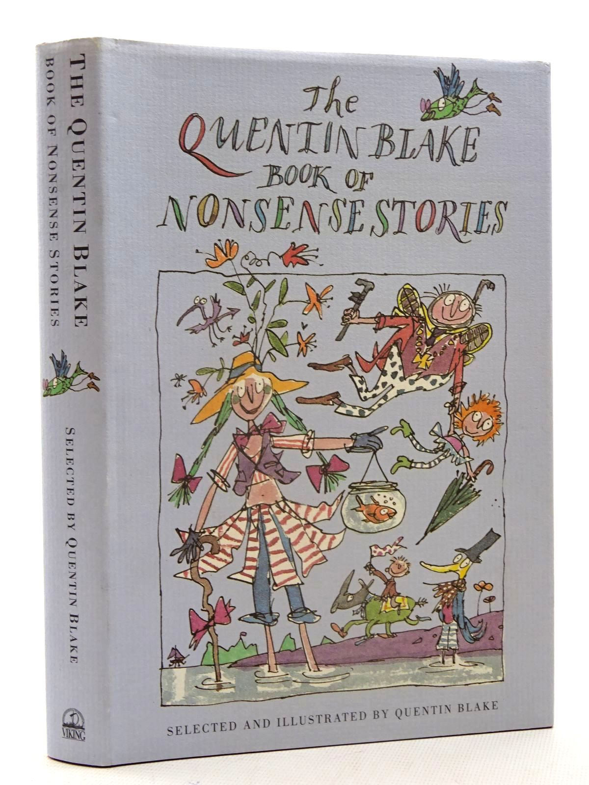 Photo of THE QUENTIN BLAKE BOOK OF NONSENSE STORIES written by Blake, Quentin Dahl, Roald Carroll, Lewis et al,  illustrated by Blake, Quentin published by Viking (STOCK CODE: 1317406)  for sale by Stella & Rose's Books