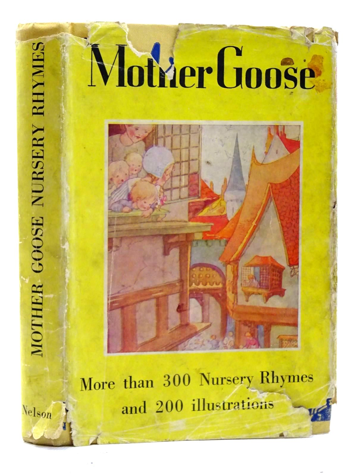 Photo of MOTHER GOOSE illustrated by Anderson, Anne