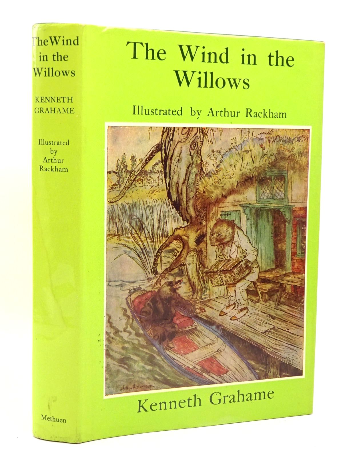 Photo of THE WIND IN THE WILLOWS written by Grahame, Kenneth illustrated by Rackham, Arthur published by Methuen Children's Books (STOCK CODE: 1317442)  for sale by Stella & Rose's Books