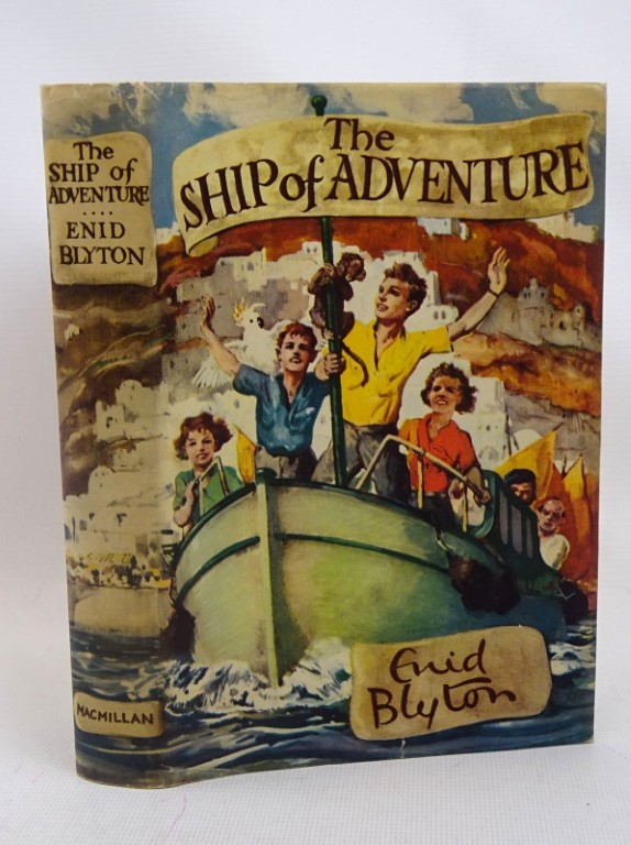 Photo of THE SHIP OF ADVENTURE written by Blyton, Enid illustrated by Tresilian, Stuart published by Macmillan & Co. Ltd. (STOCK CODE: 1317511)  for sale by Stella & Rose's Books
