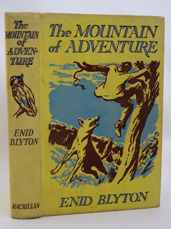 Photo of THE MOUNTAIN OF ADVENTURE written by Blyton, Enid illustrated by Tresilian, Stuart published by Macmillan & Co. Ltd. (STOCK CODE: 1317512)  for sale by Stella & Rose's Books