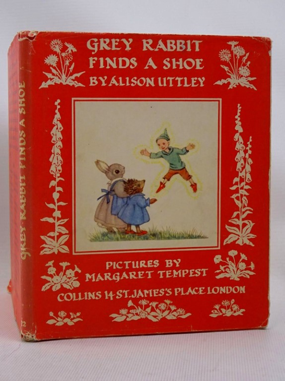 Photo of GREY RABBIT FINDS A SHOE written by Uttley, Alison illustrated by Tempest, Margaret published by Collins (STOCK CODE: 1317517)  for sale by Stella & Rose's Books