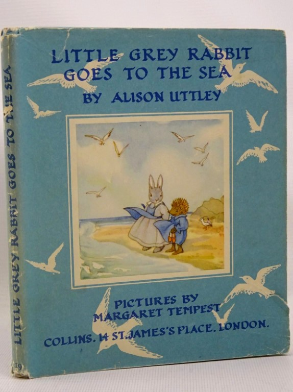 Photo of LITTLE GREY RABBIT GOES TO THE SEA written by Uttley, Alison illustrated by Tempest, Margaret published by Collins (STOCK CODE: 1317519)  for sale by Stella & Rose's Books