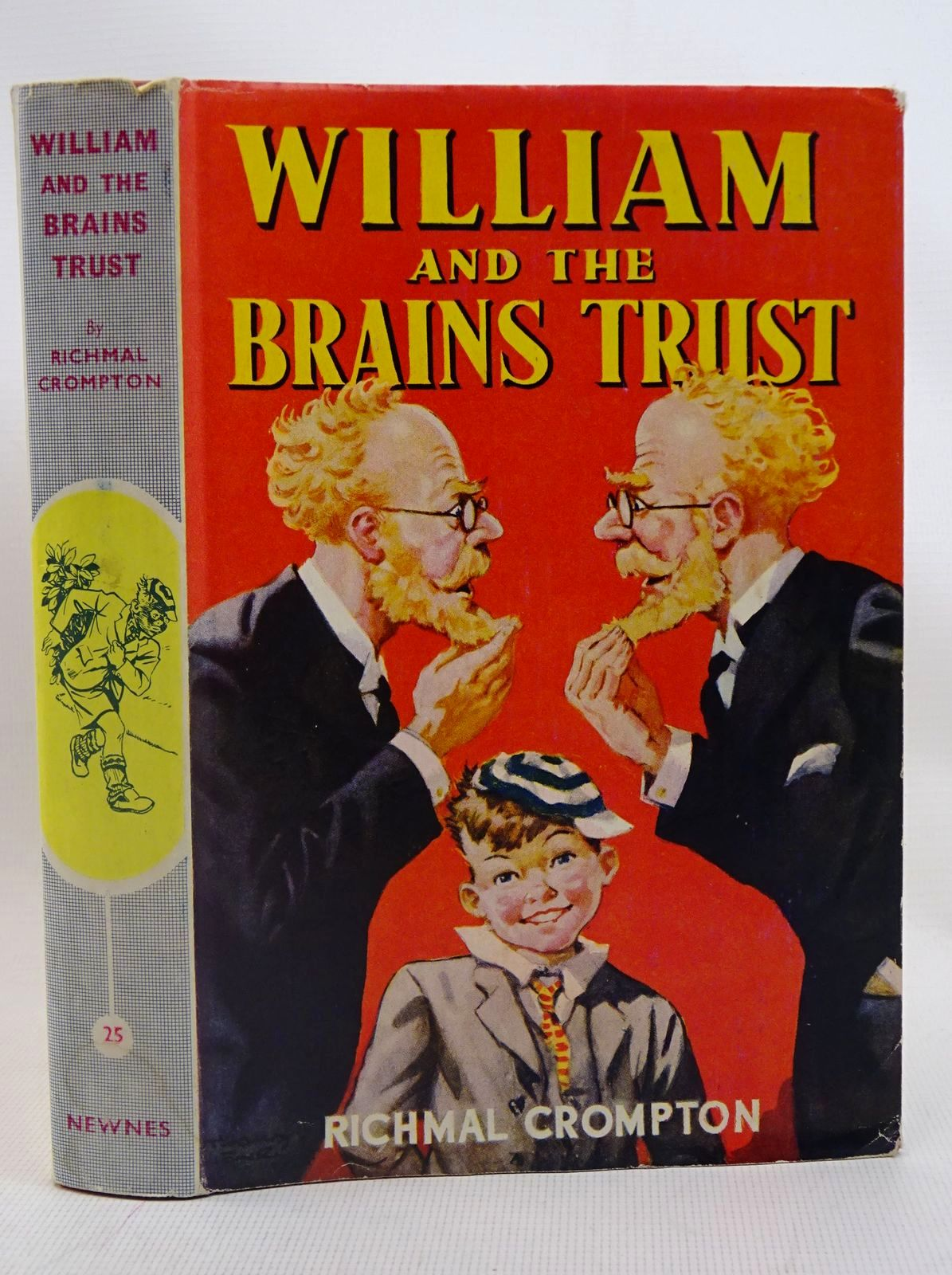Photo of WILLIAM AND THE BRAINS TRUST written by Crompton, Richmal illustrated by Henry, Thomas published by George Newnes Limited (STOCK CODE: 1317575)  for sale by Stella & Rose's Books