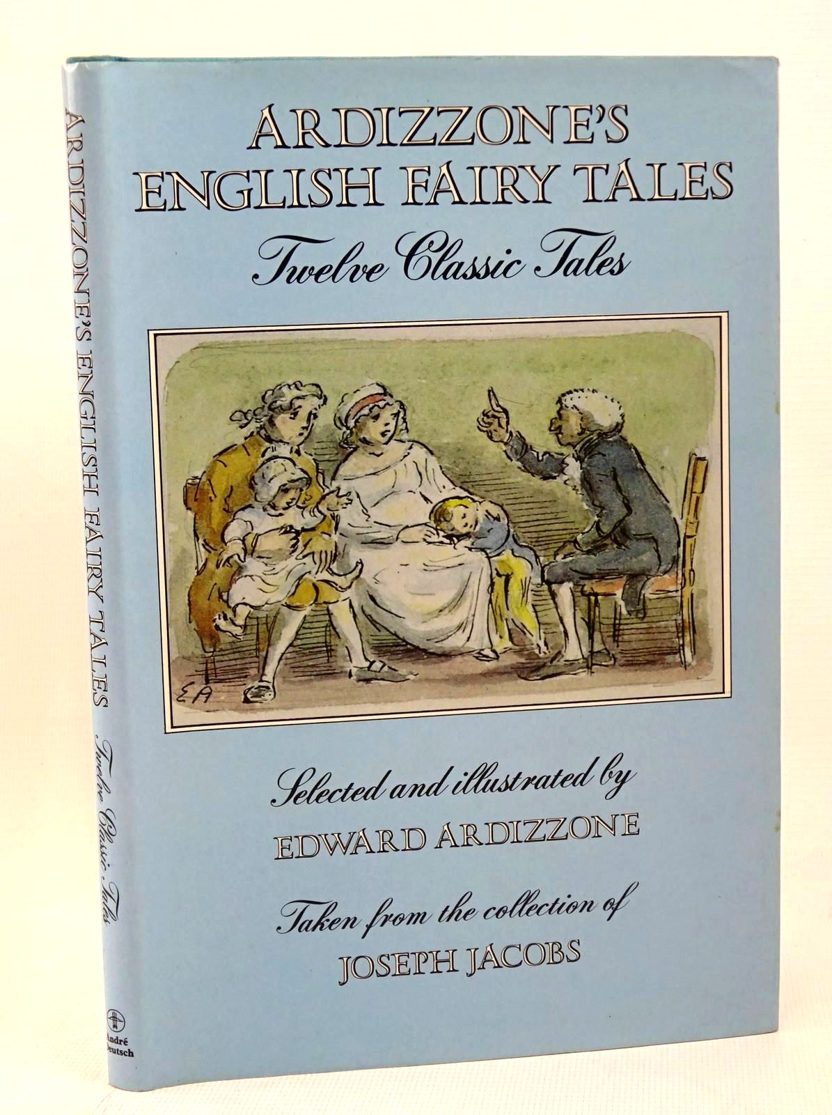 Photo of ARDIZZONE'S ENGLISH FAIRY TALES written by Jacobs, Joseph illustrated by Ardizzone, Edward published by Andre Deutsch (STOCK CODE: 1317588)  for sale by Stella & Rose's Books