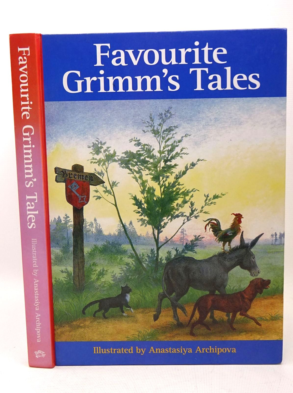 Photo of FAVOURITE GRIMM'S TALES written by Grimm, Brothers illustrated by Archipova, Anastasiya published by Floris Books (STOCK CODE: 1317617)  for sale by Stella & Rose's Books