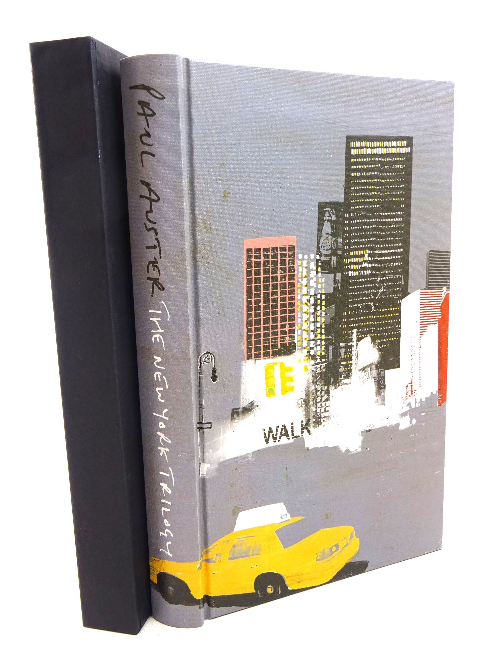 Photo of THE NEW YORK TRILOGY written by Auster, Paul illustrated by Burns, Tom published by Folio Society (STOCK CODE: 1317623)  for sale by Stella & Rose's Books
