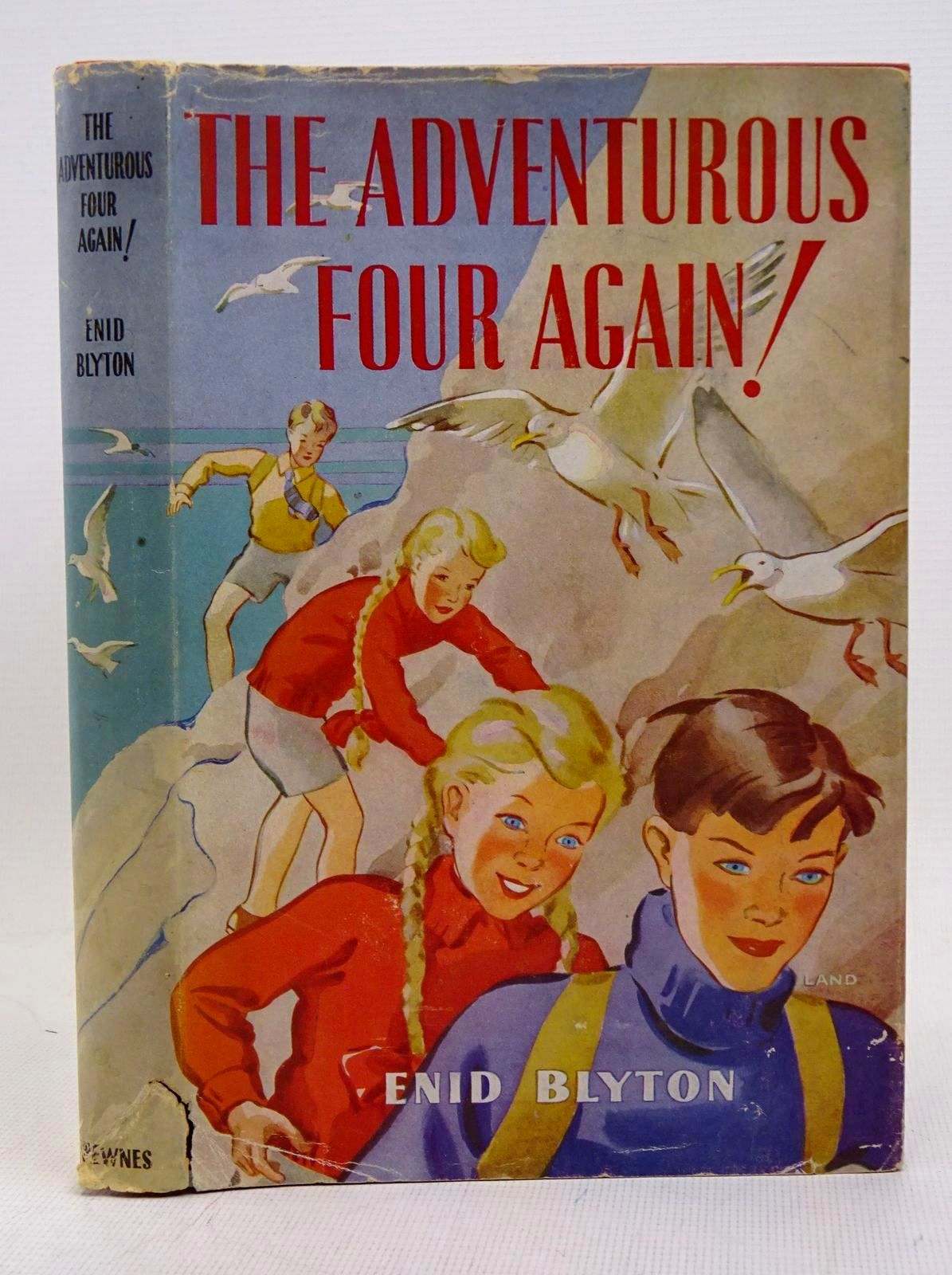 Photo of THE ADVENTUROUS FOUR AGAIN! written by Blyton, Enid illustrated by Land, Jessie published by George Newnes Limited (STOCK CODE: 1317632)  for sale by Stella & Rose's Books