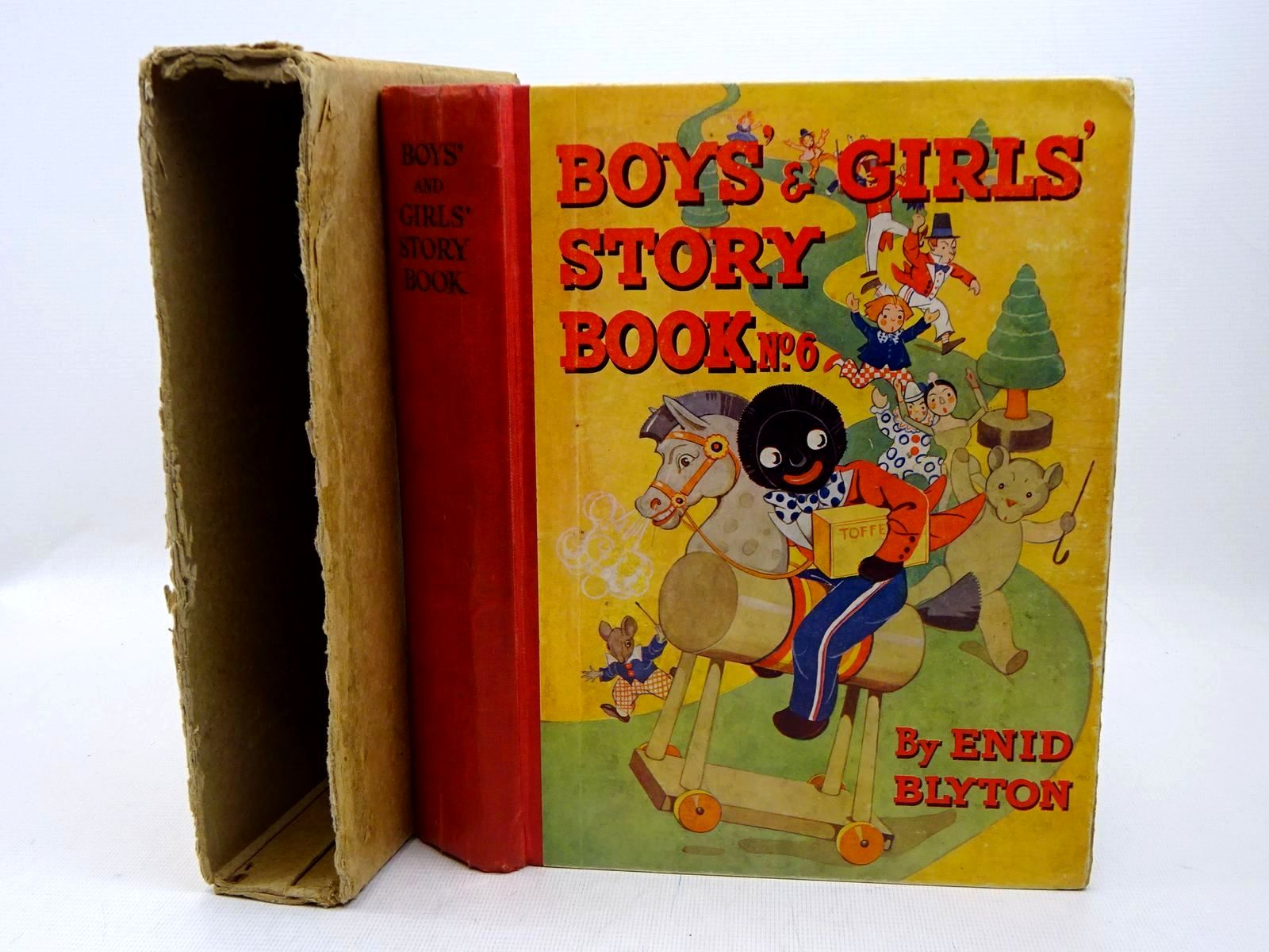 Photo of BOYS' AND GIRLS' STORY BOOK No. 6 written by Blyton, Enid illustrated by Wheeler, Dorothy M.<br />McGavin, Hilda<br />Lodge, Grace<br />et al.,  published by News Chronicle Ltd. (STOCK CODE: 1317640)  for sale by Stella & Rose's Books