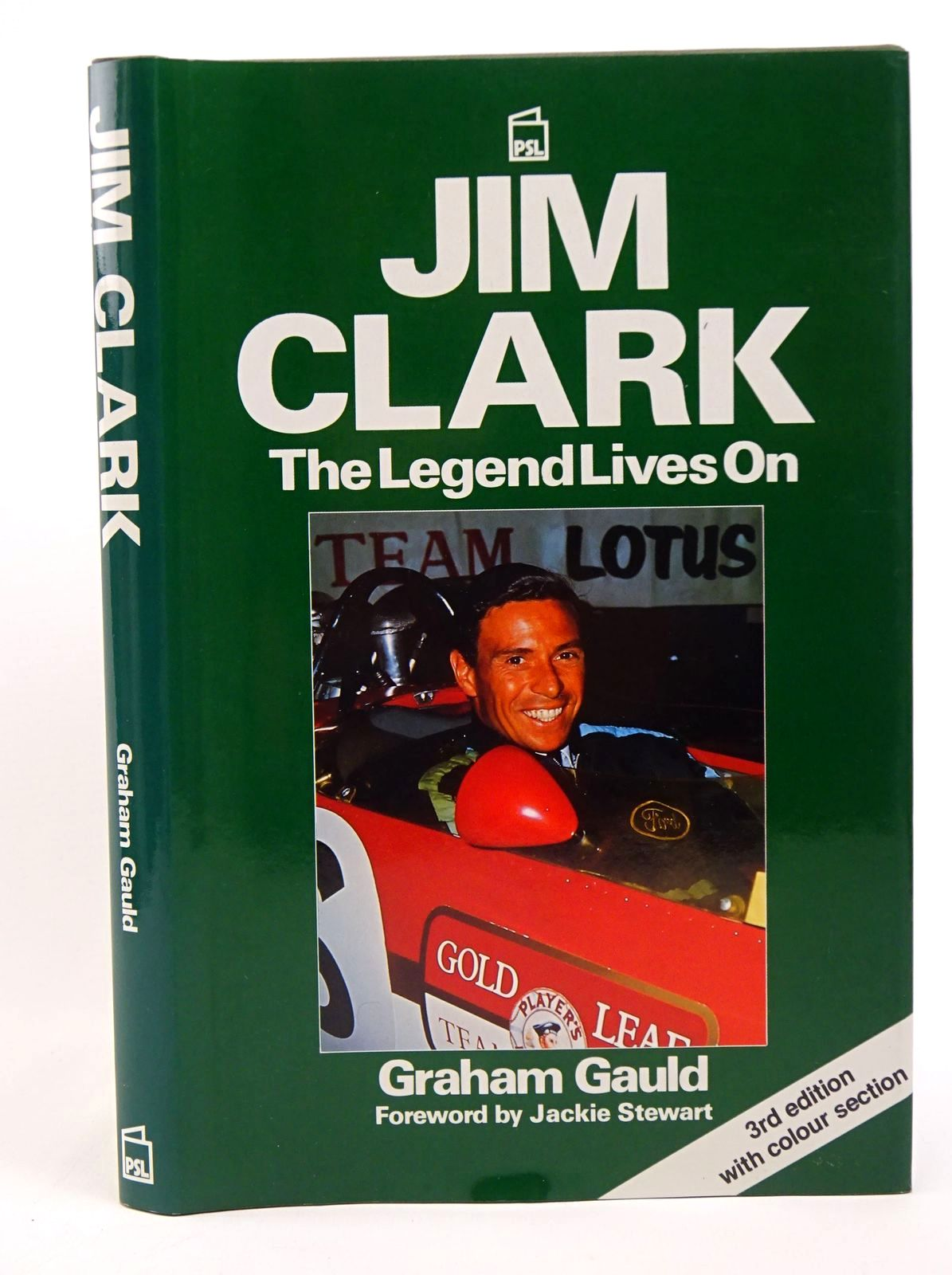 Photo of JIM CLARK THE LEGEND LIVES ON written by Gauld, Graham published by Patrick Stephens Limited (STOCK CODE: 1317710)  for sale by Stella & Rose's Books