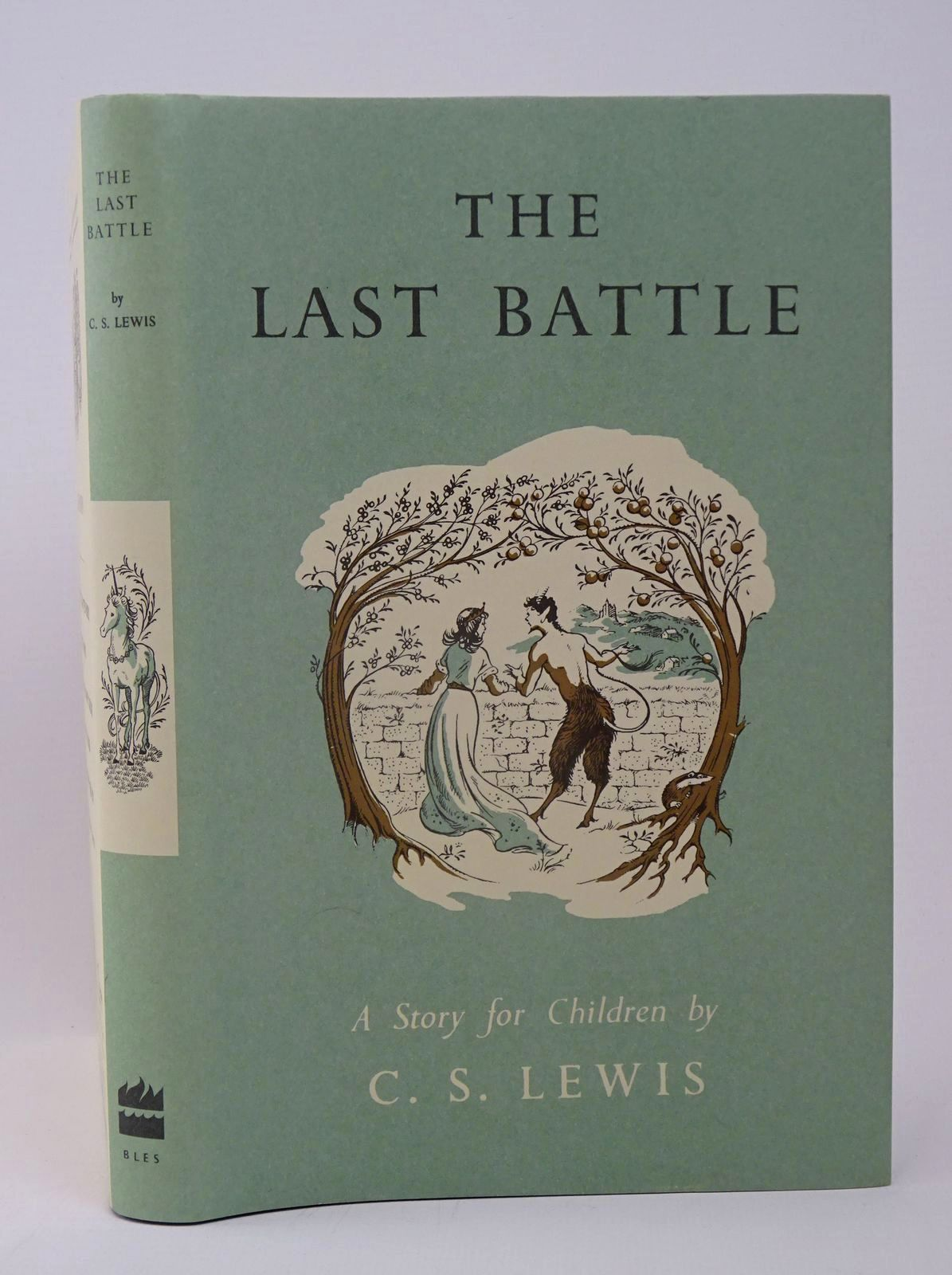 Photo of THE LAST BATTLE written by Lewis, C.S. illustrated by Baynes, Pauline published by Harper Collins Publishers Ltd (STOCK CODE: 1317720)  for sale by Stella & Rose's Books