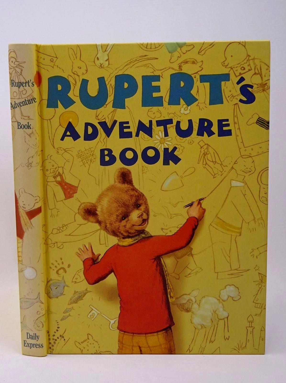 Photo of RUPERT ANNUAL 1940 (FACSIMILE) - RUPERT'S ADVENTURE BOOK- Stock Number: 1317733