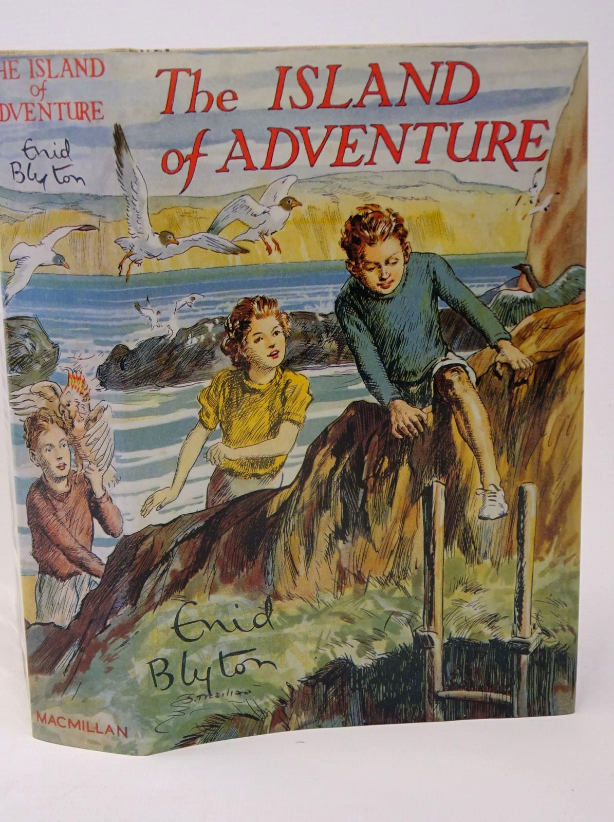 Photo of THE ISLAND OF ADVENTURE written by Blyton, Enid illustrated by Tresilian, Stuart published by Pan Macmillan Children's Books (STOCK CODE: 1317734)  for sale by Stella & Rose's Books