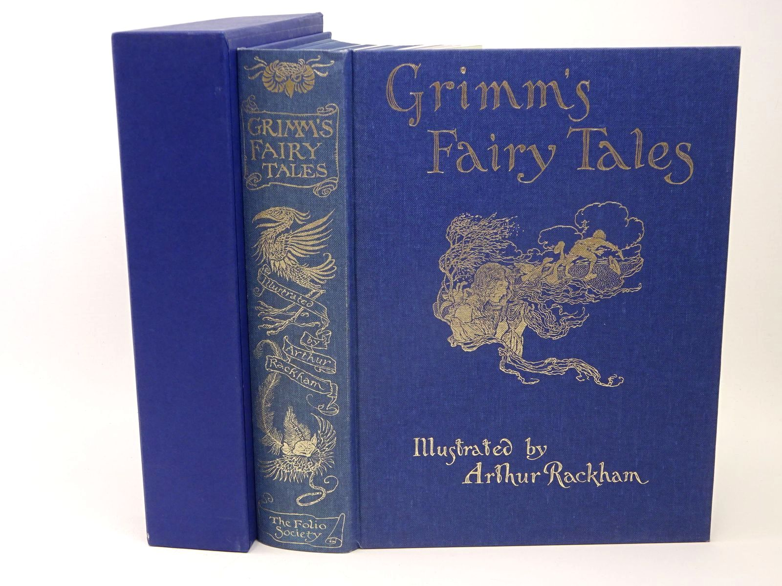 Photo of THE FAIRY TALES OF THE BROTHERS GRIMM written by Grimm, Brothers illustrated by Rackham, Arthur published by Folio Society (STOCK CODE: 1317743)  for sale by Stella & Rose's Books