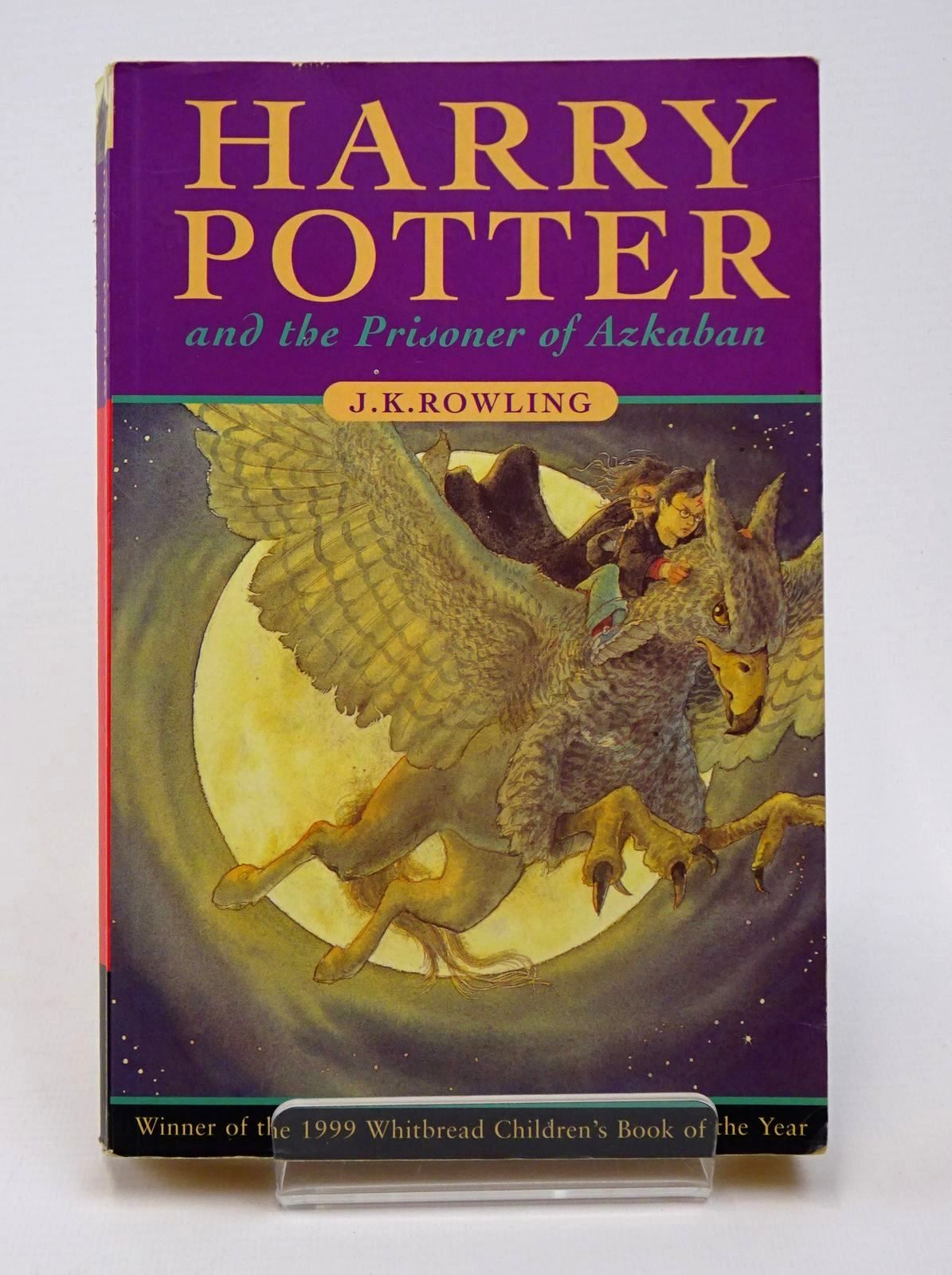 Photo of HARRY POTTER AND THE PRISONER OF AZKABAN written by Rowling, J.K. published by Bloomsbury Books (STOCK CODE: 1317766)  for sale by Stella & Rose's Books