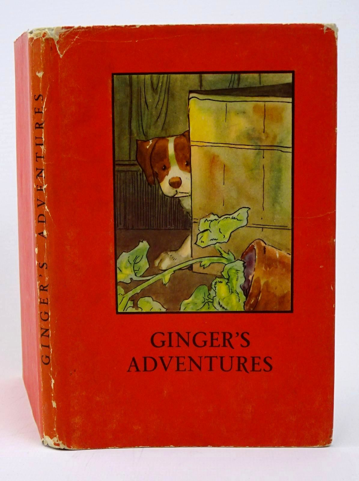 Photo of GINGER'S ADVENTURES written by Macgregor, A.J.<br />Perring, W. illustrated by Macgregor, A.J. published by Wills &amp; Hepworth Ltd. (STOCK CODE: 1317768)  for sale by Stella & Rose's Books
