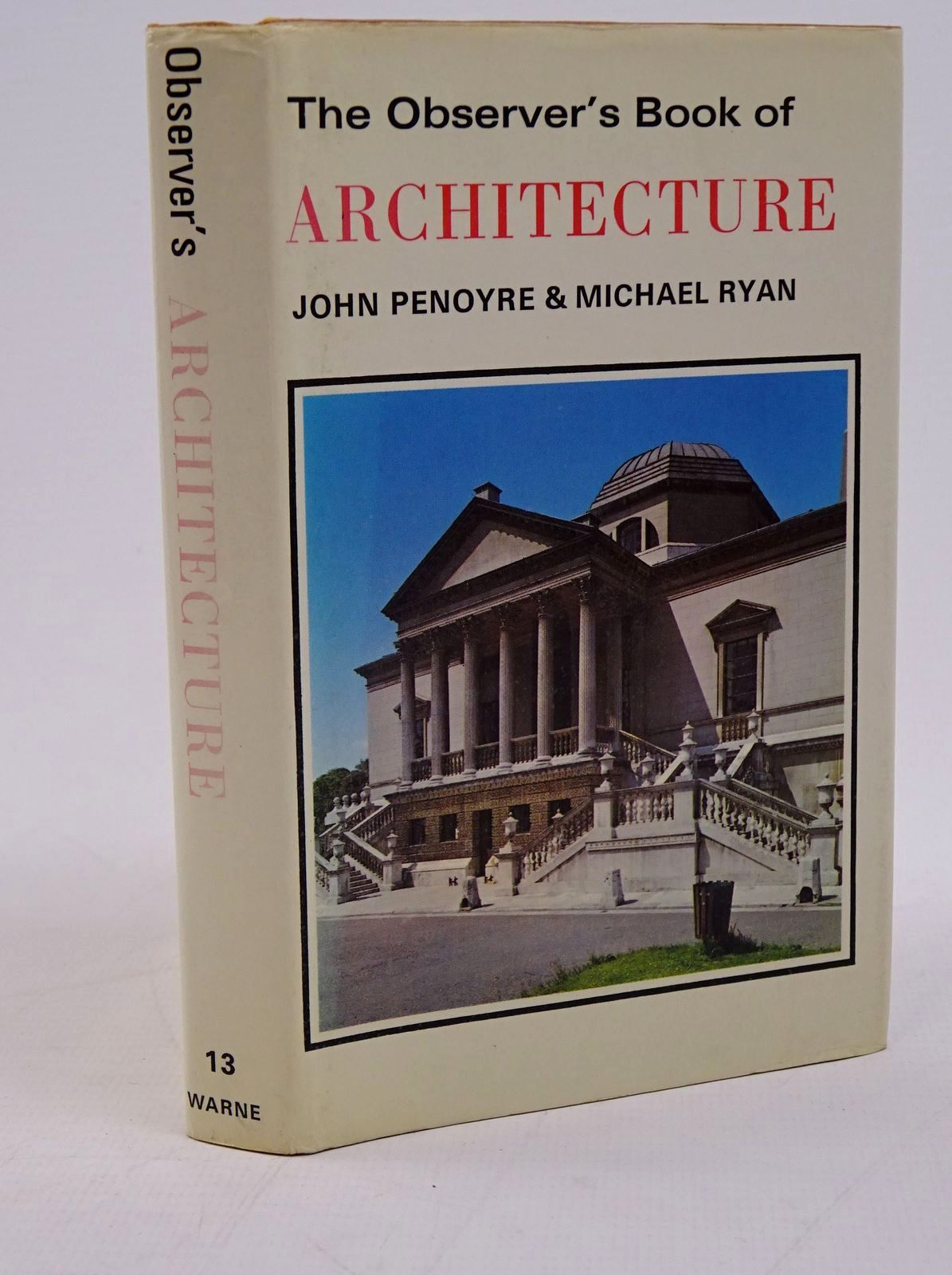 Photo of THE OBSERVER'S BOOK OF ARCHITECTURE written by Penoyre, John Ryan, Michael illustrated by Penoyre, John Ryan, Michael published by Frederick Warne & Co Ltd. (STOCK CODE: 1317780)  for sale by Stella & Rose's Books